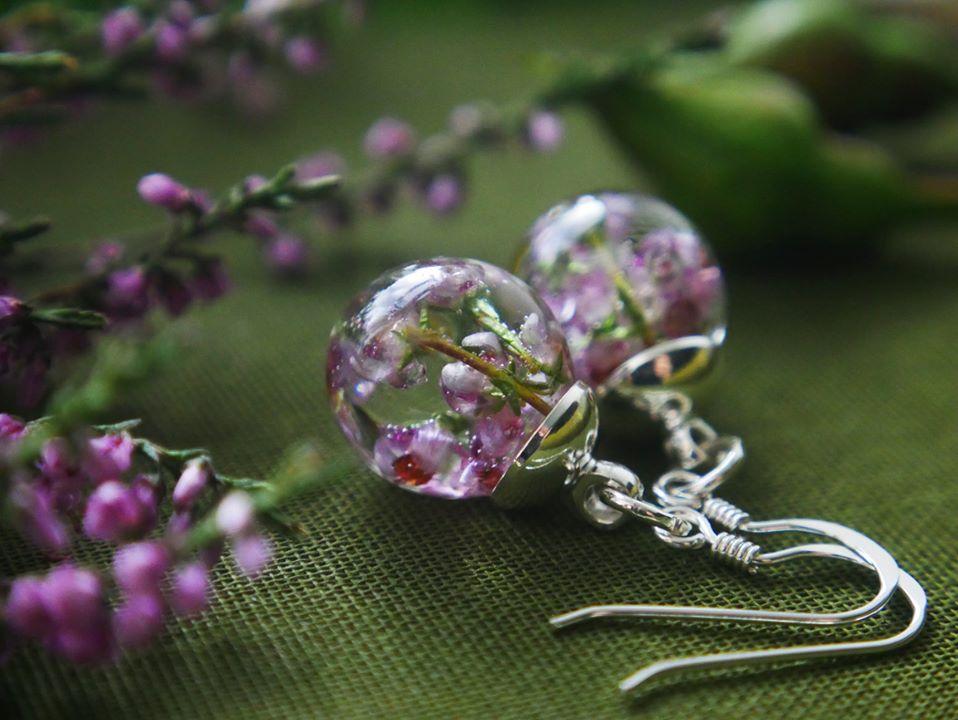 Botanic Isles Drop Earrings Sterling Silver