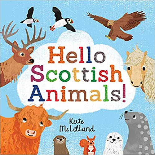 Hello Scottish Animals Book