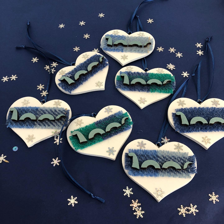 Nessie Christmas  Hanger