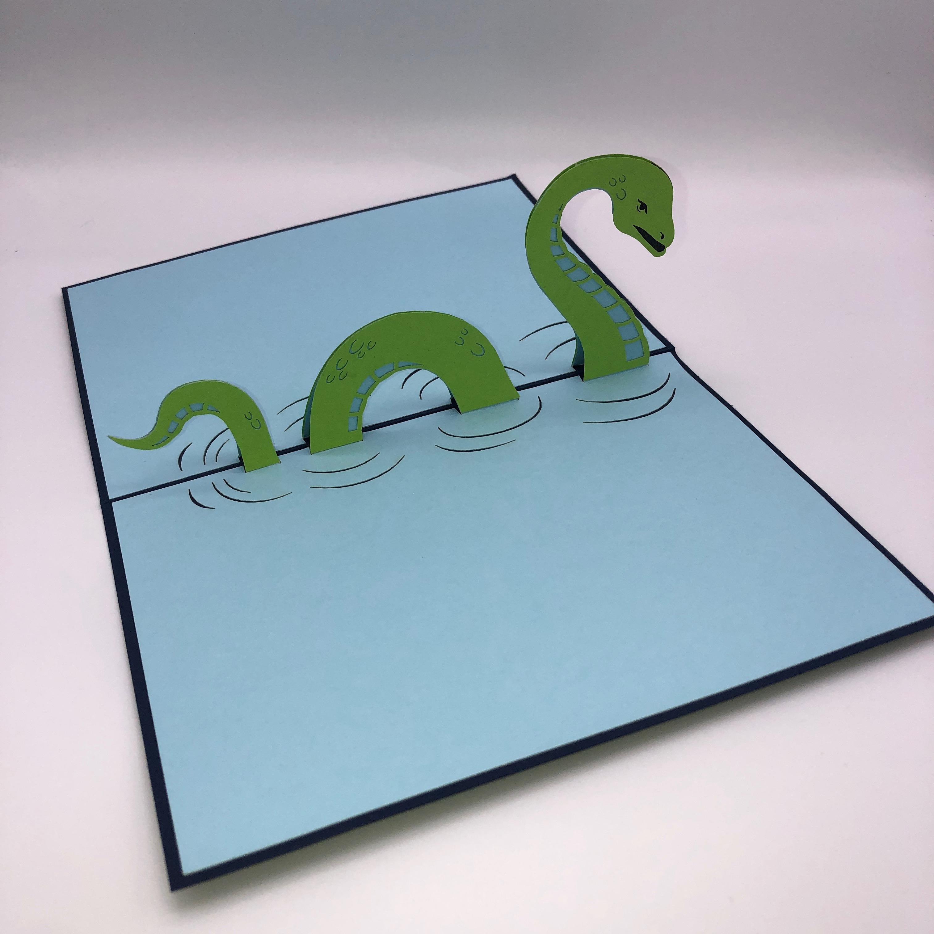 Nessie Pop Up Cards