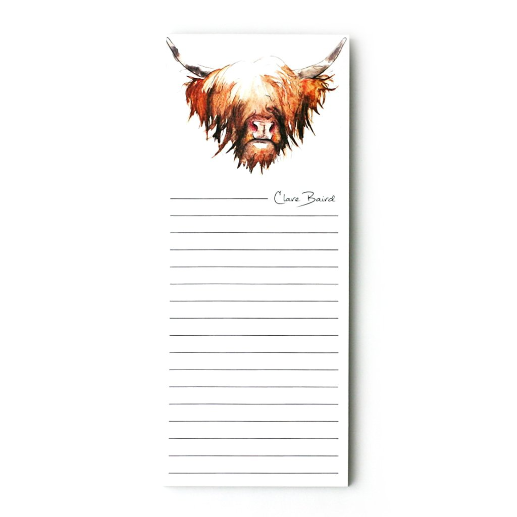 Clare Baird Magnetic Notepads