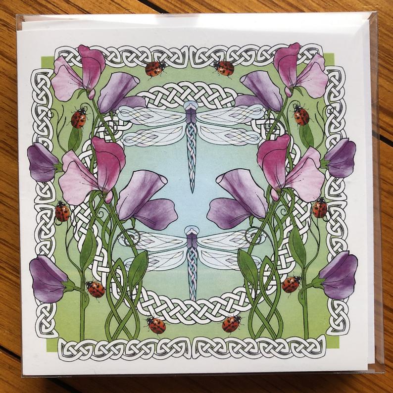 Highland Celtic Art Cards
