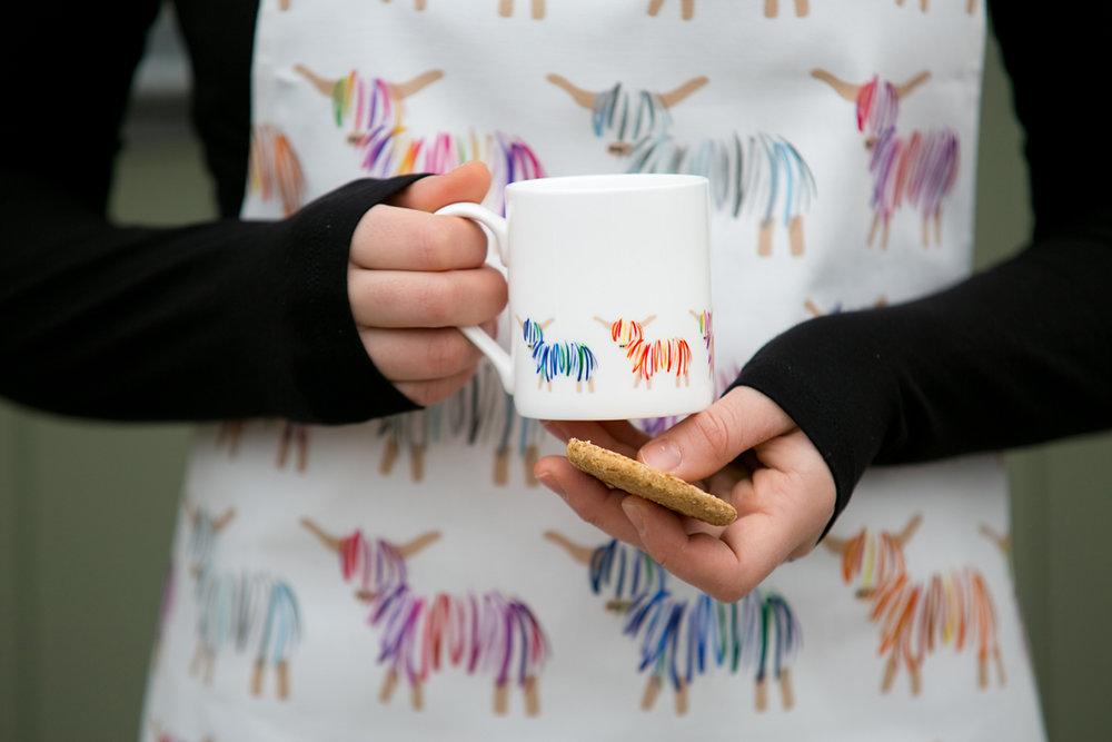 Hairy Coo Mug & Magnet
