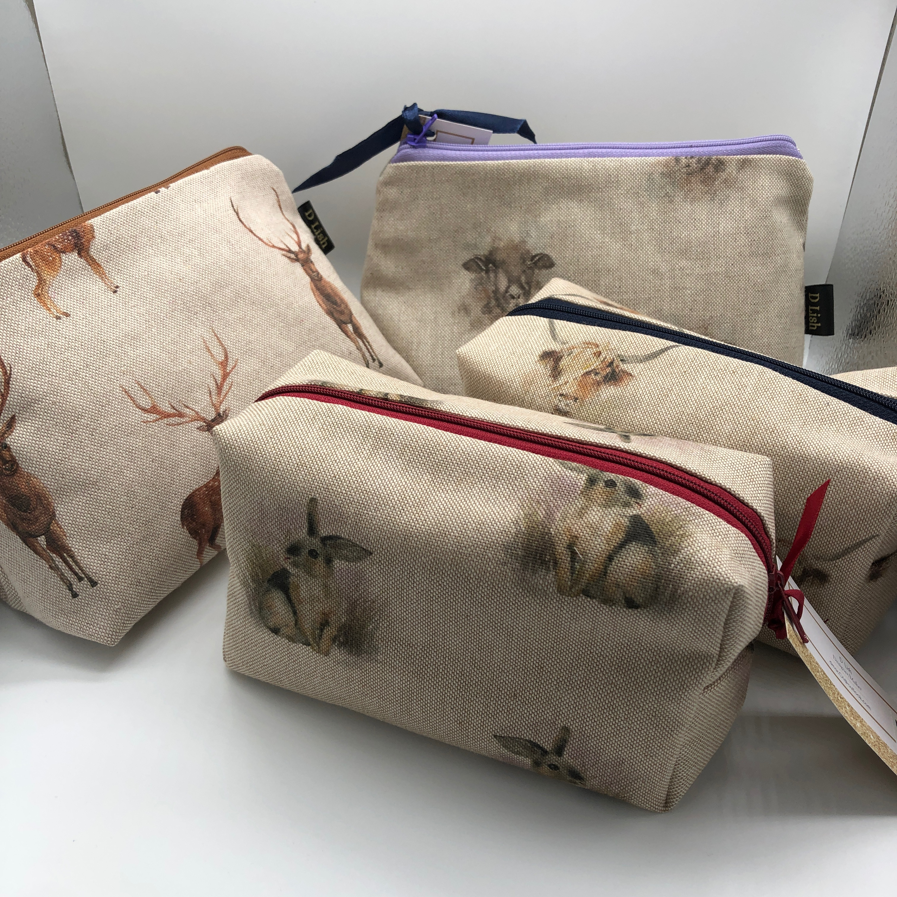 D-Lish Cosmetic Bags