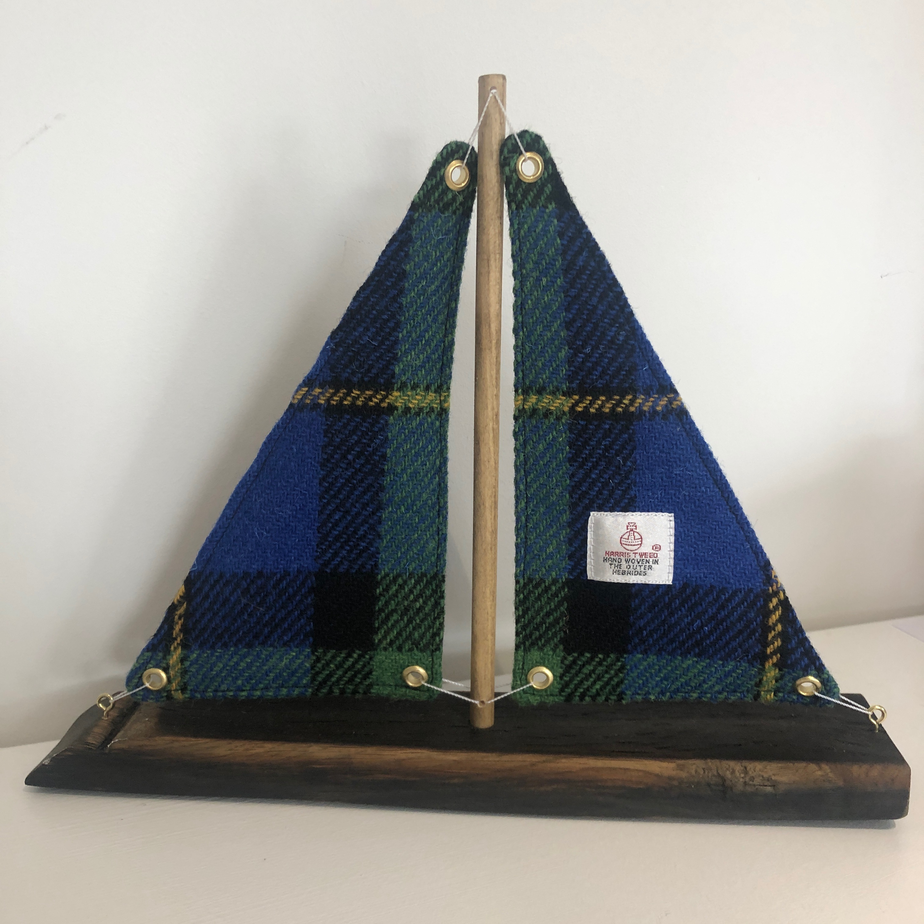 Whisky Stave Harris Tweed Boat
