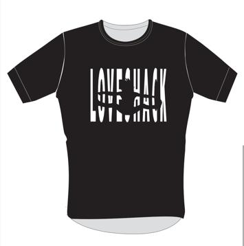 T-skjorte svart (unisex)