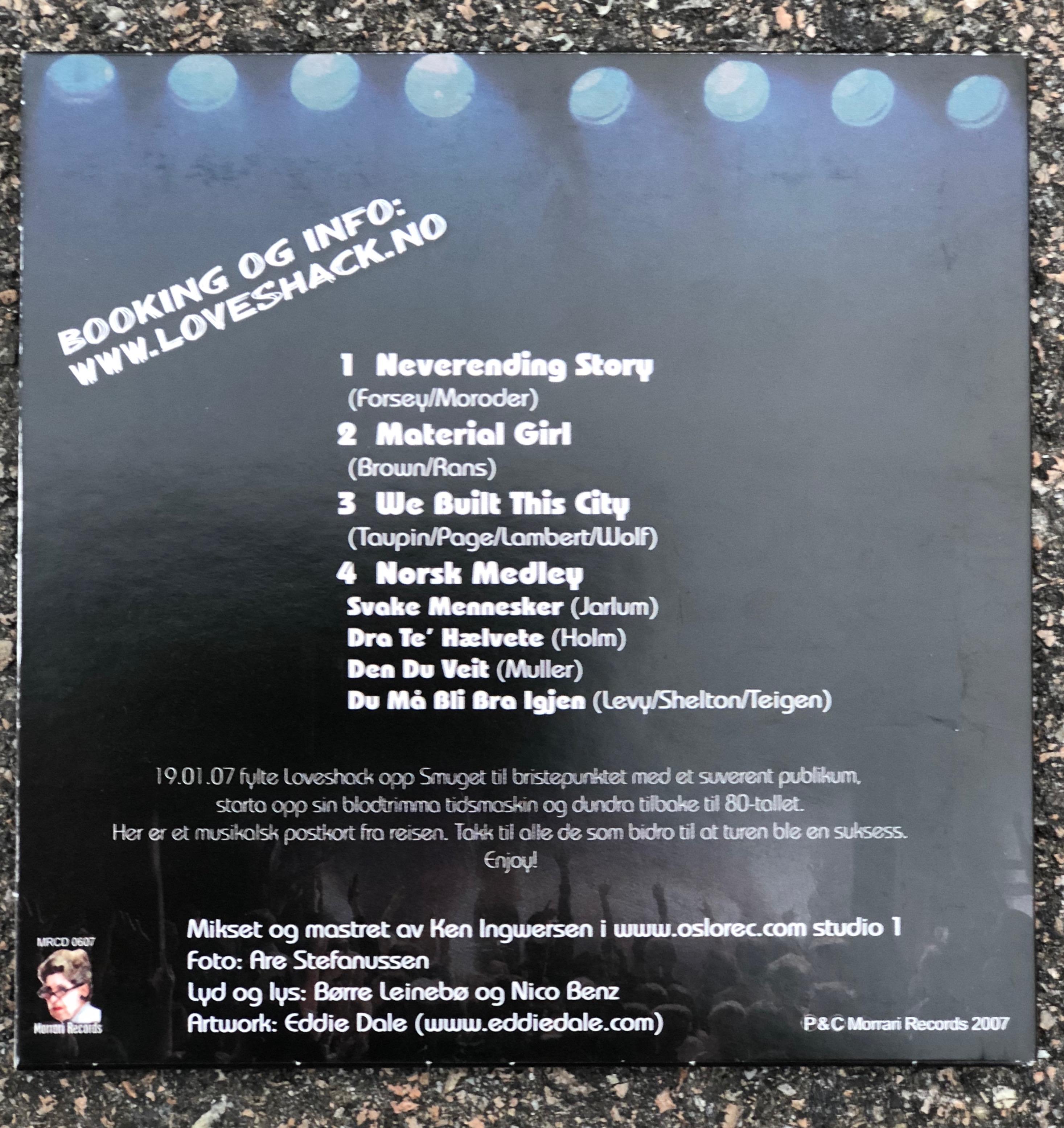 CD - Loveshack Live II