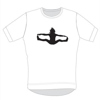 T-skjorte hvit (unisex)