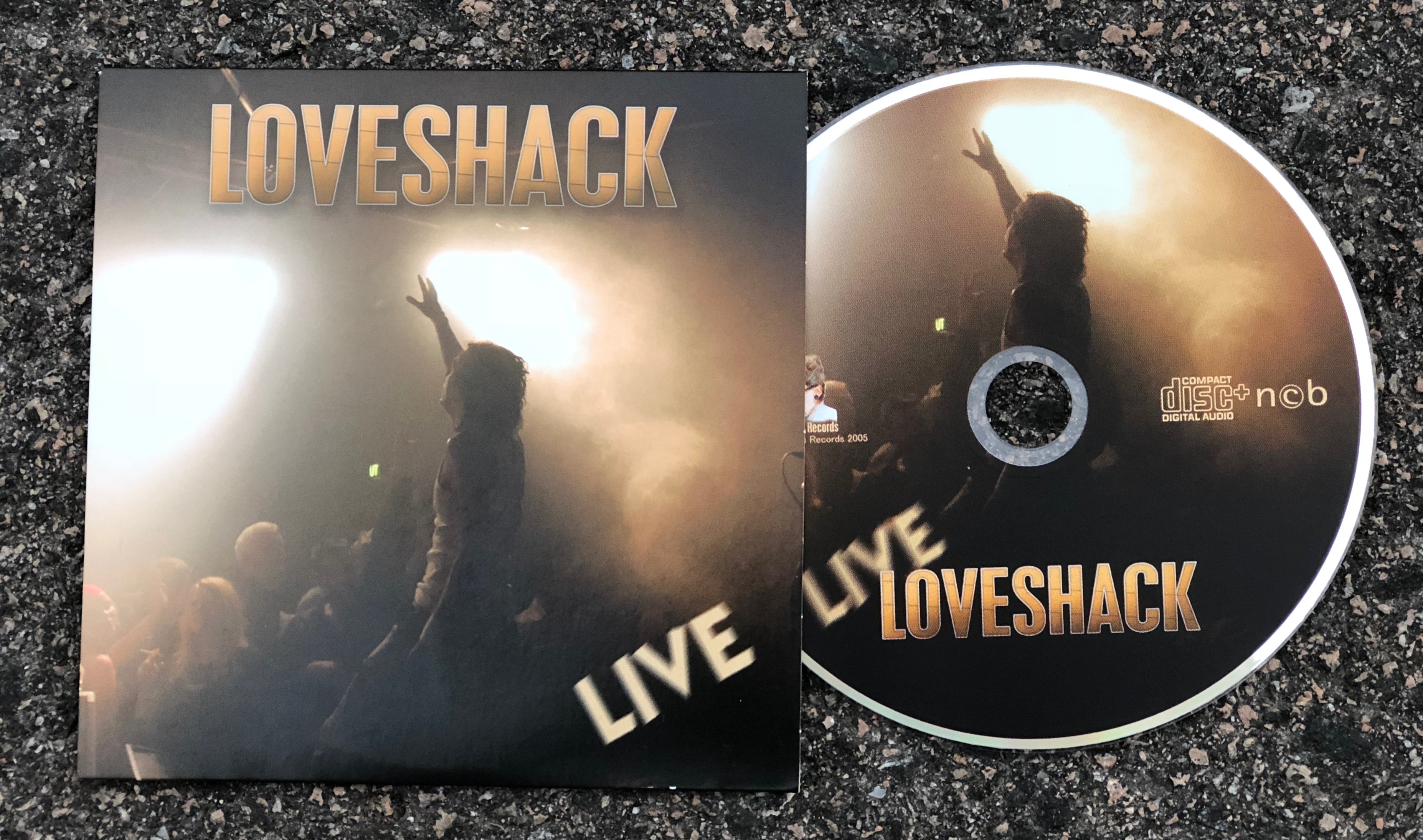 CD - Loveshack Live