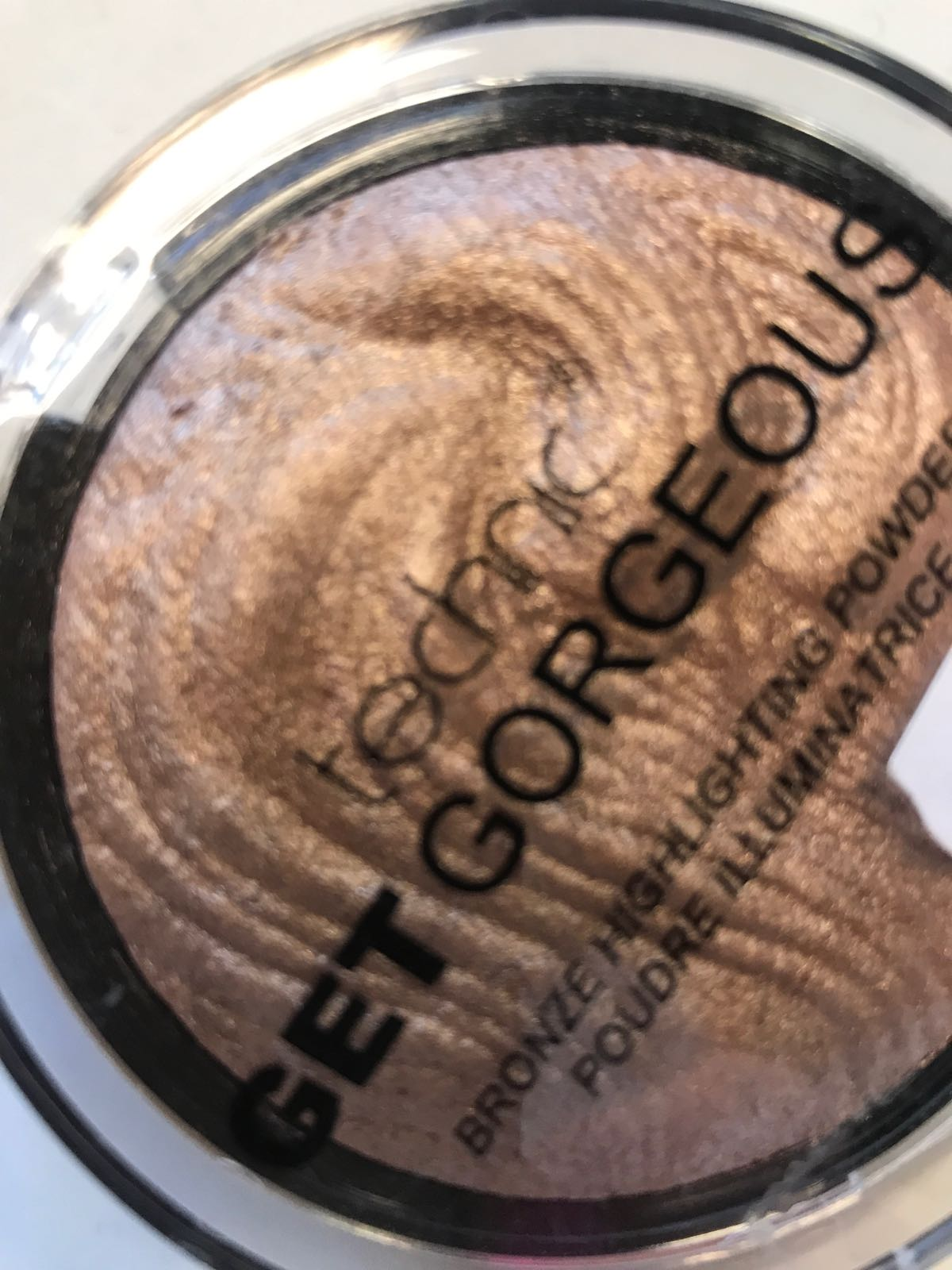 Bronze puder rouge