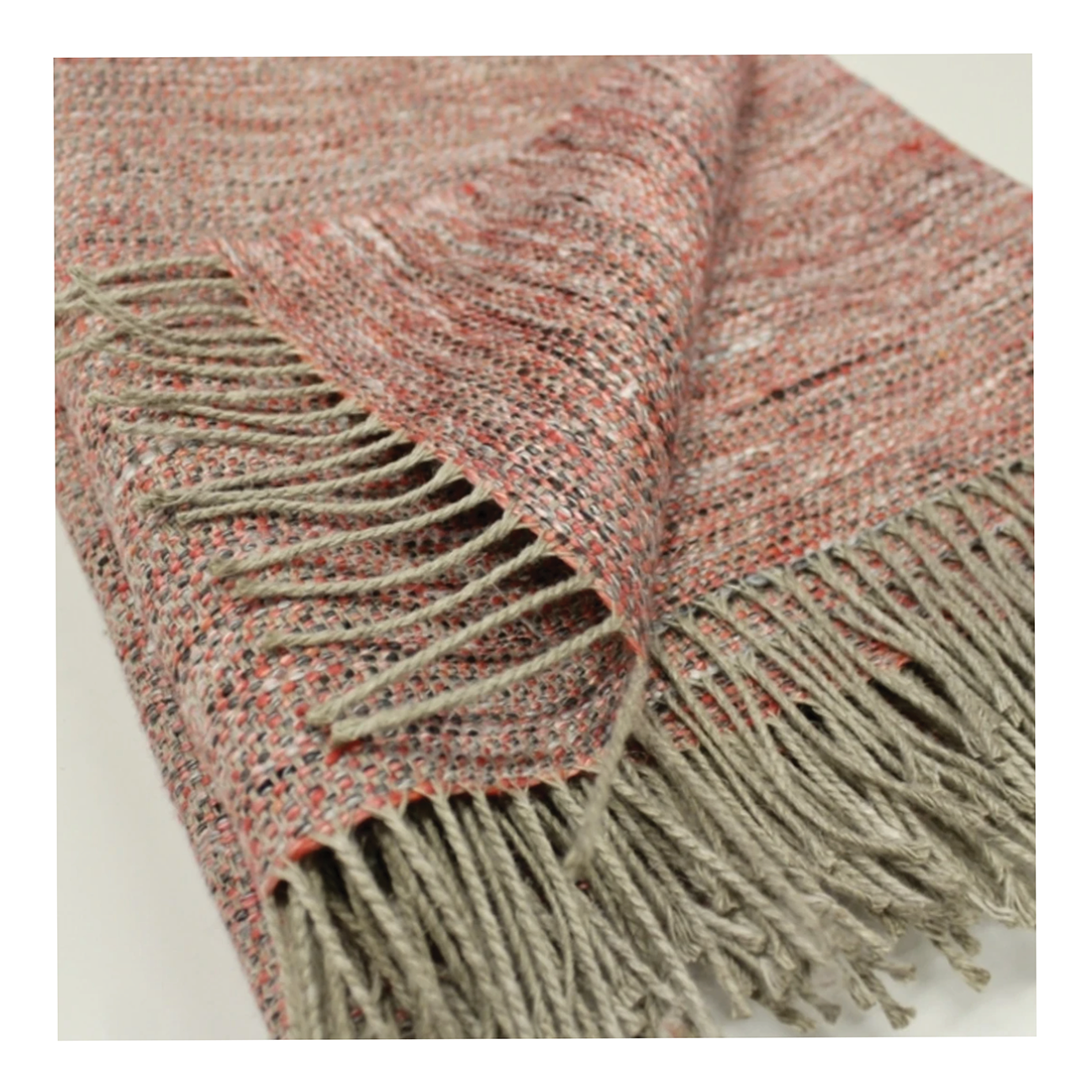 scottish linen throw