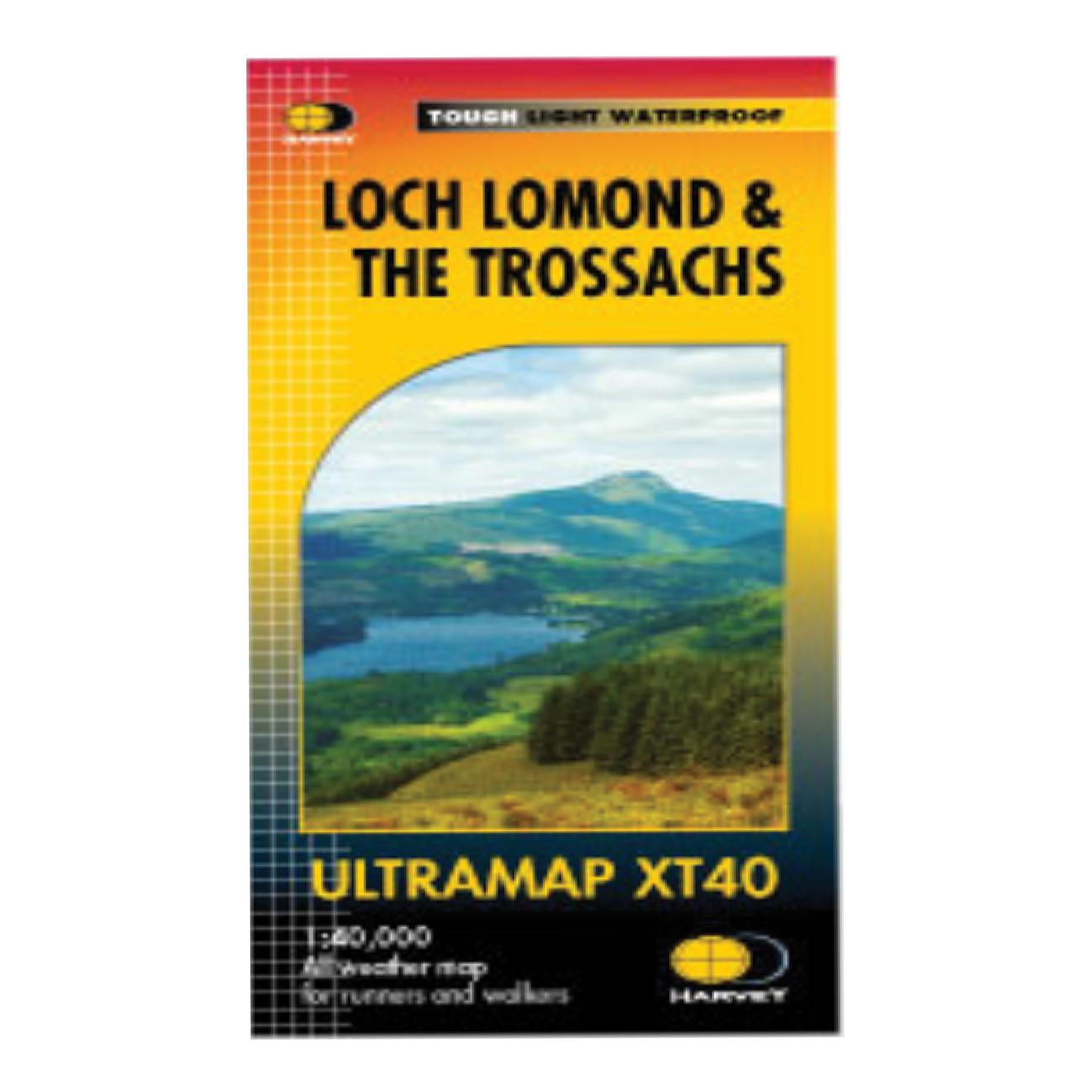 loch lomond & trossachs ultramap - harvey's