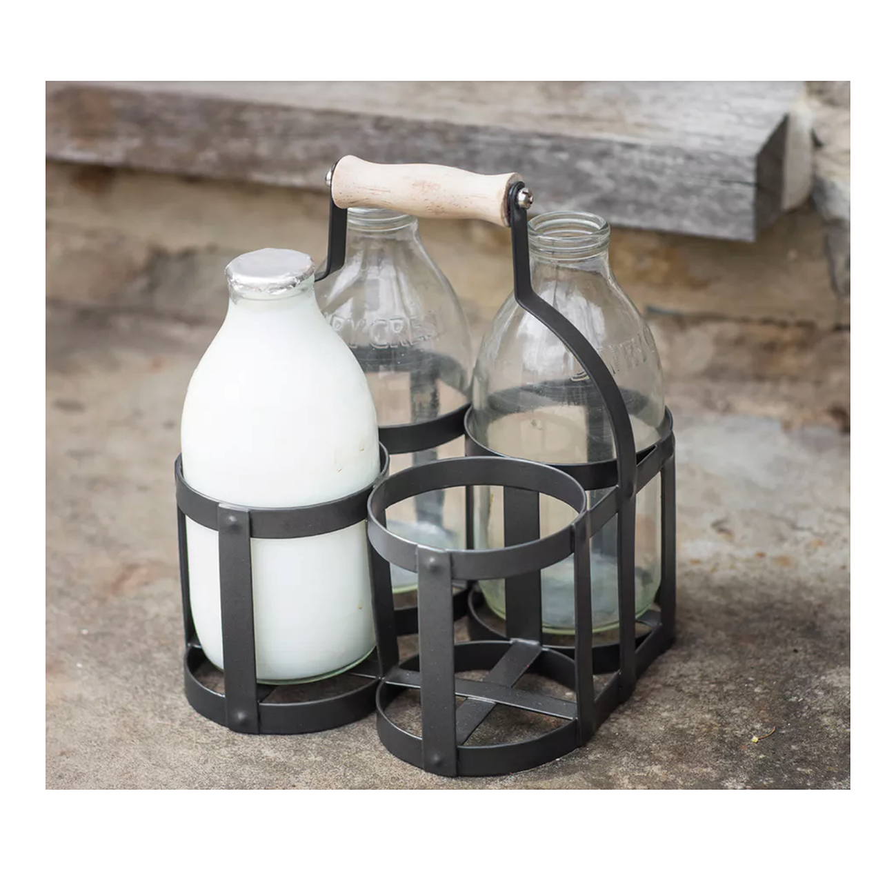 milk bottle holder