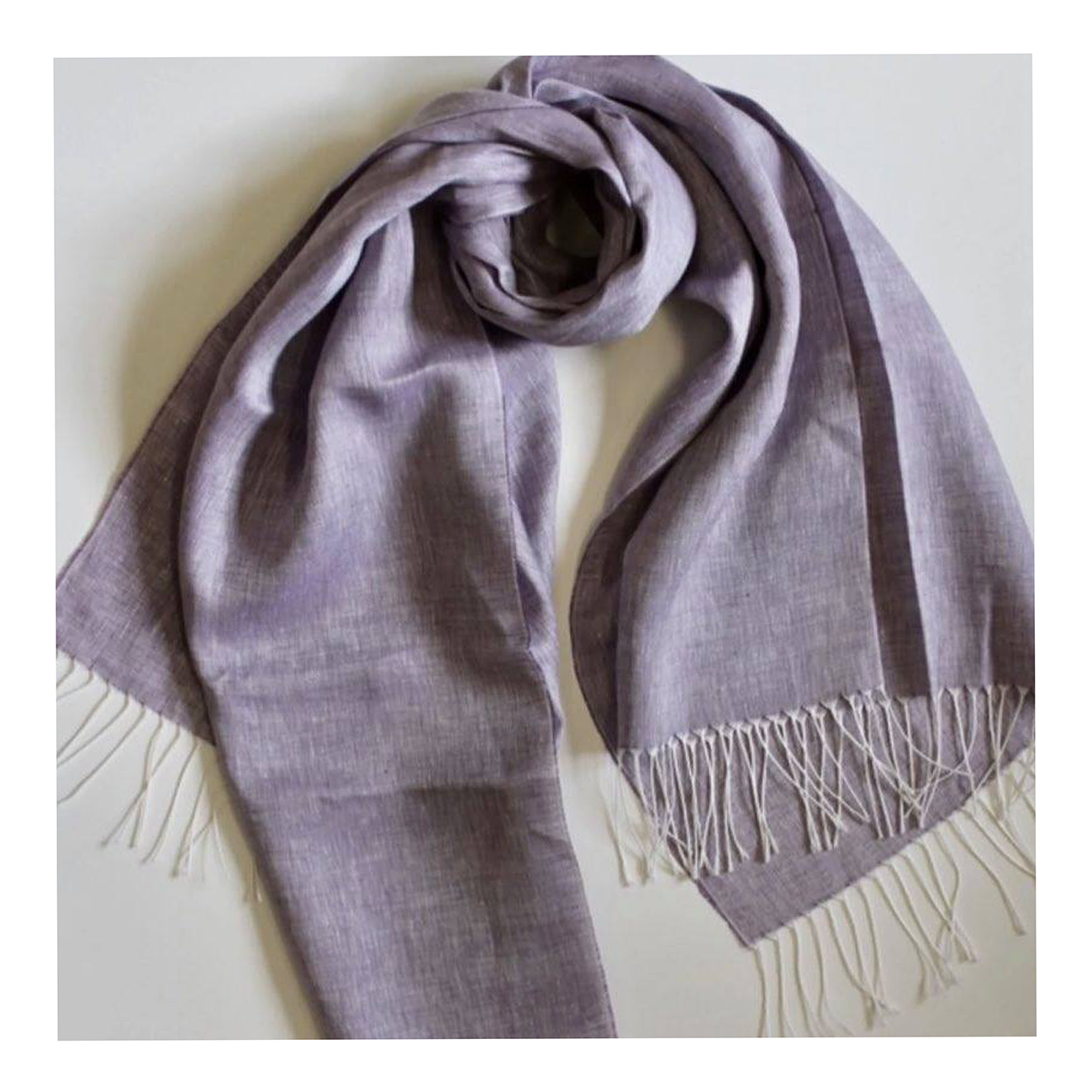 scottish linen scarf