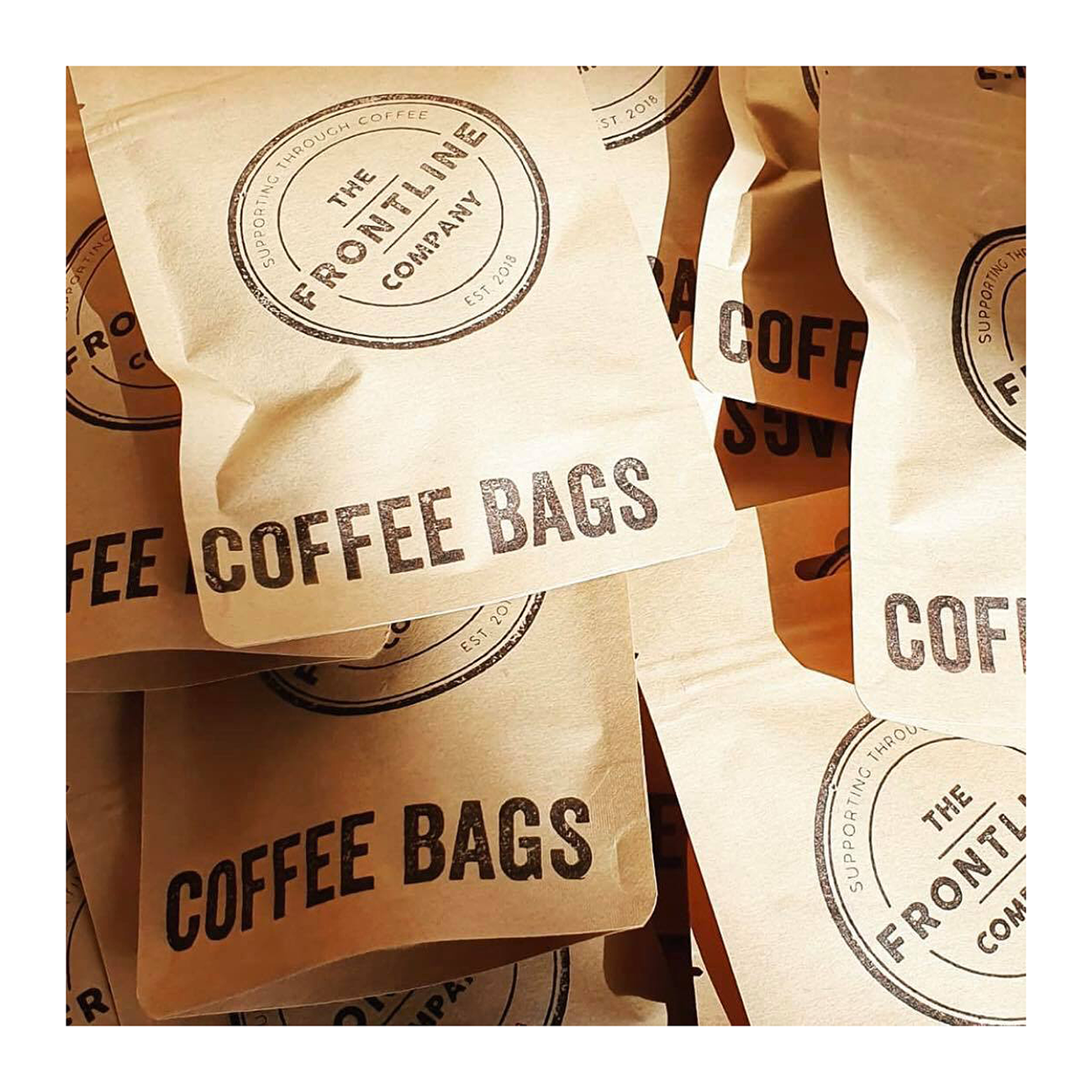 frontline coffee bags