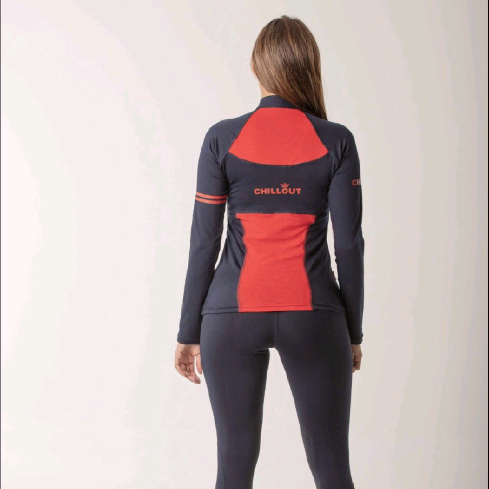 Chillout Navy/Red Baselayer Top