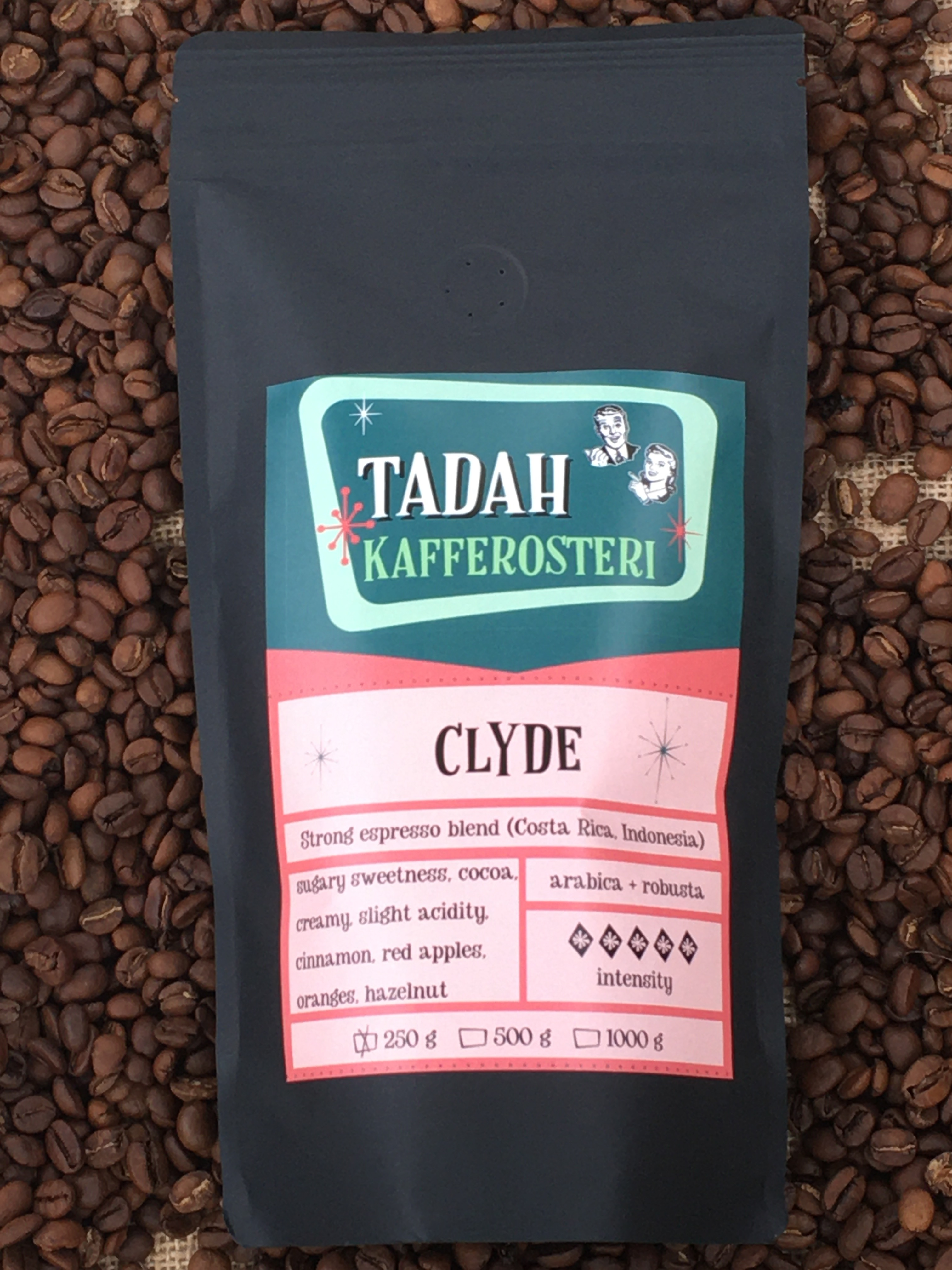 Clyde - the strong espresso blend
