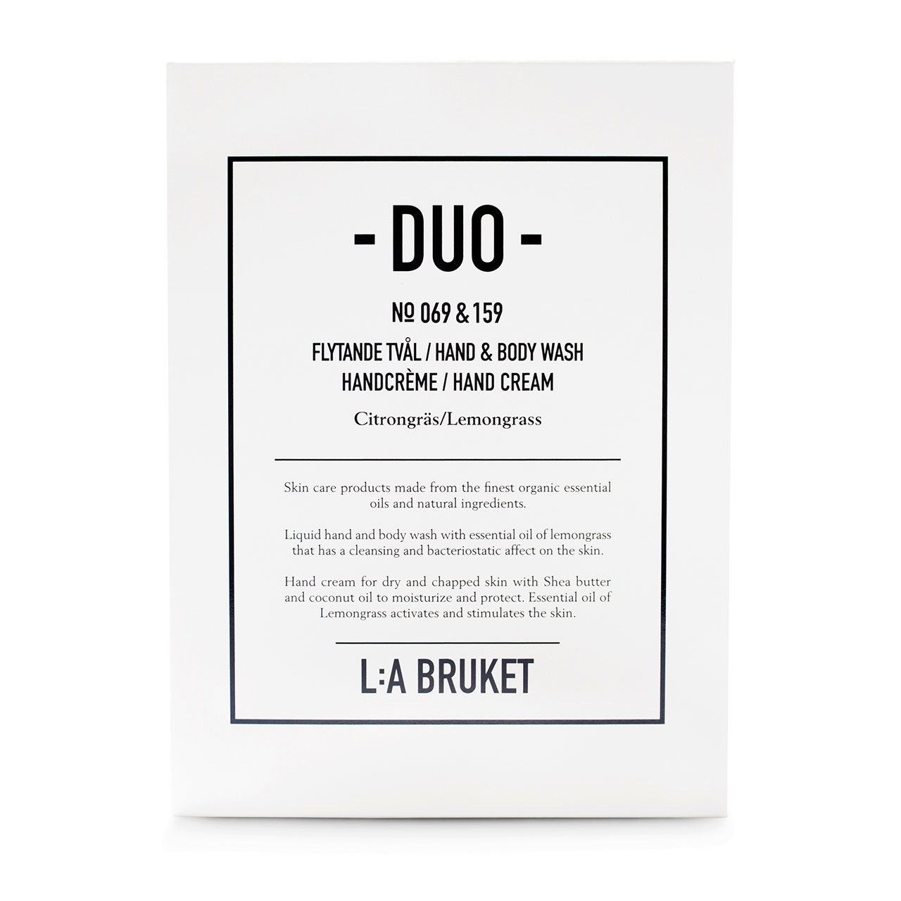 L:a Bruket, Duo kit Citrongräs