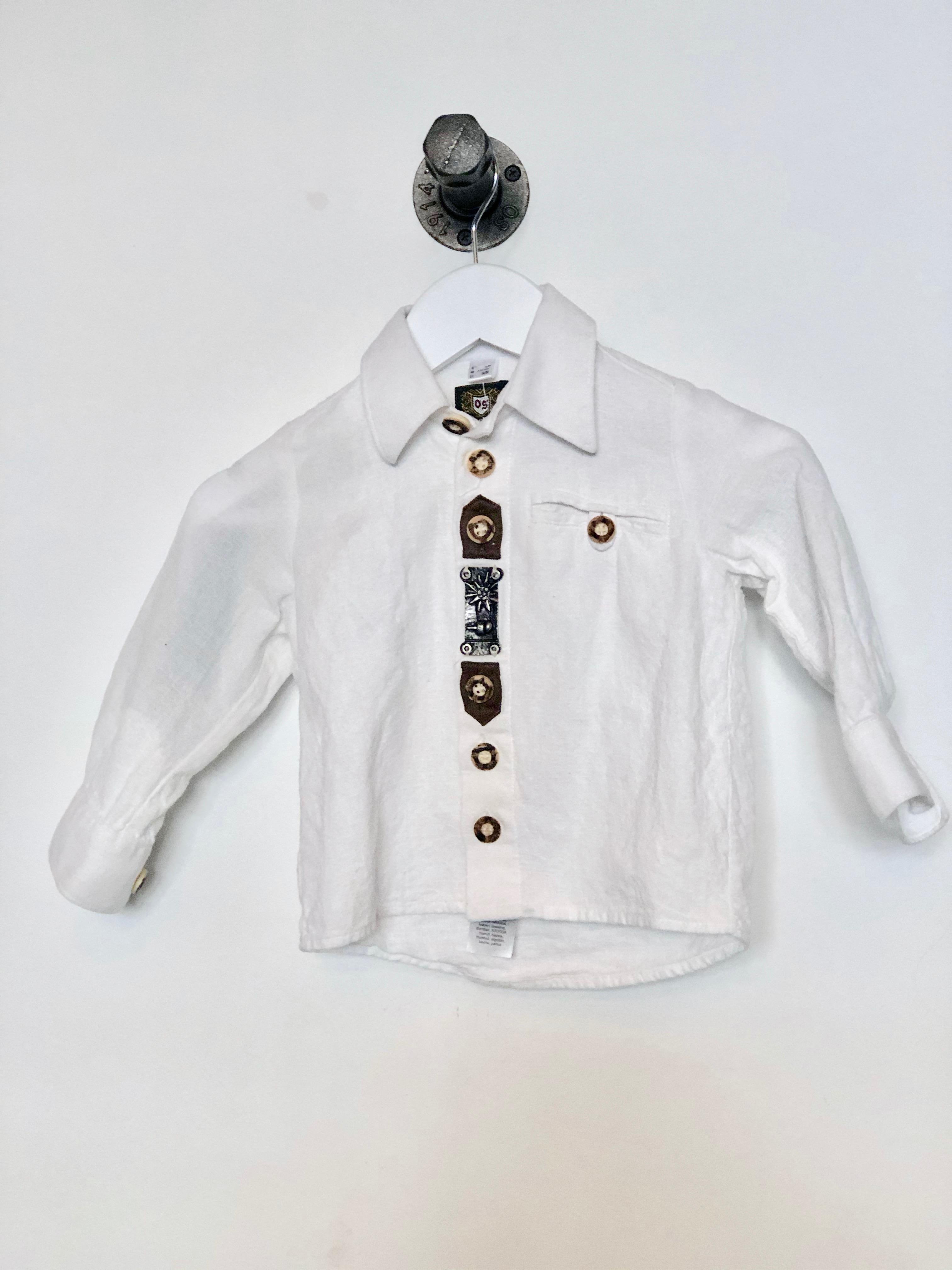 Gr. 74-80 OS Trachten Trachtenhemd (ok)