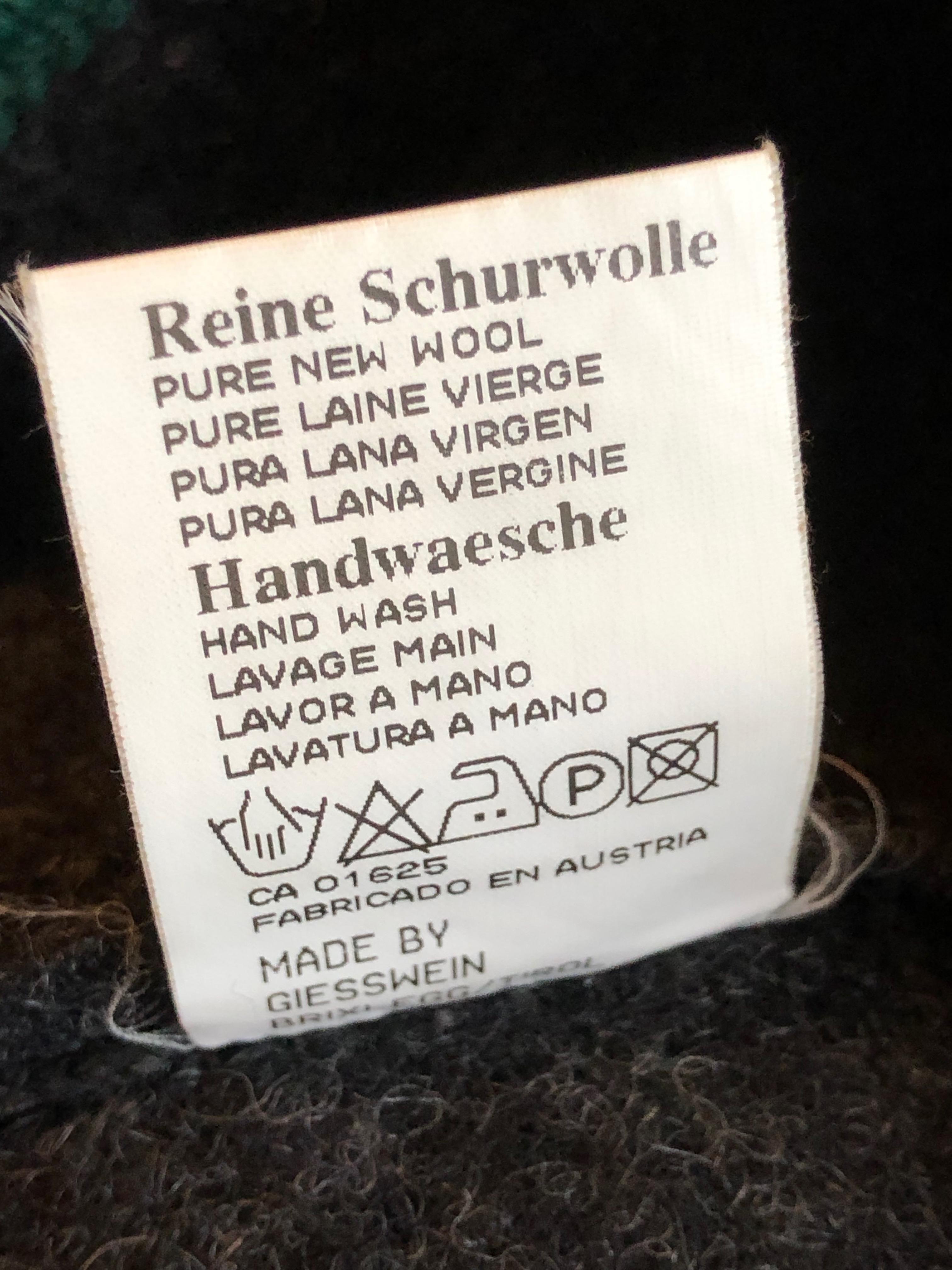 Gr. 104 Giesswein Janker Schurwolle