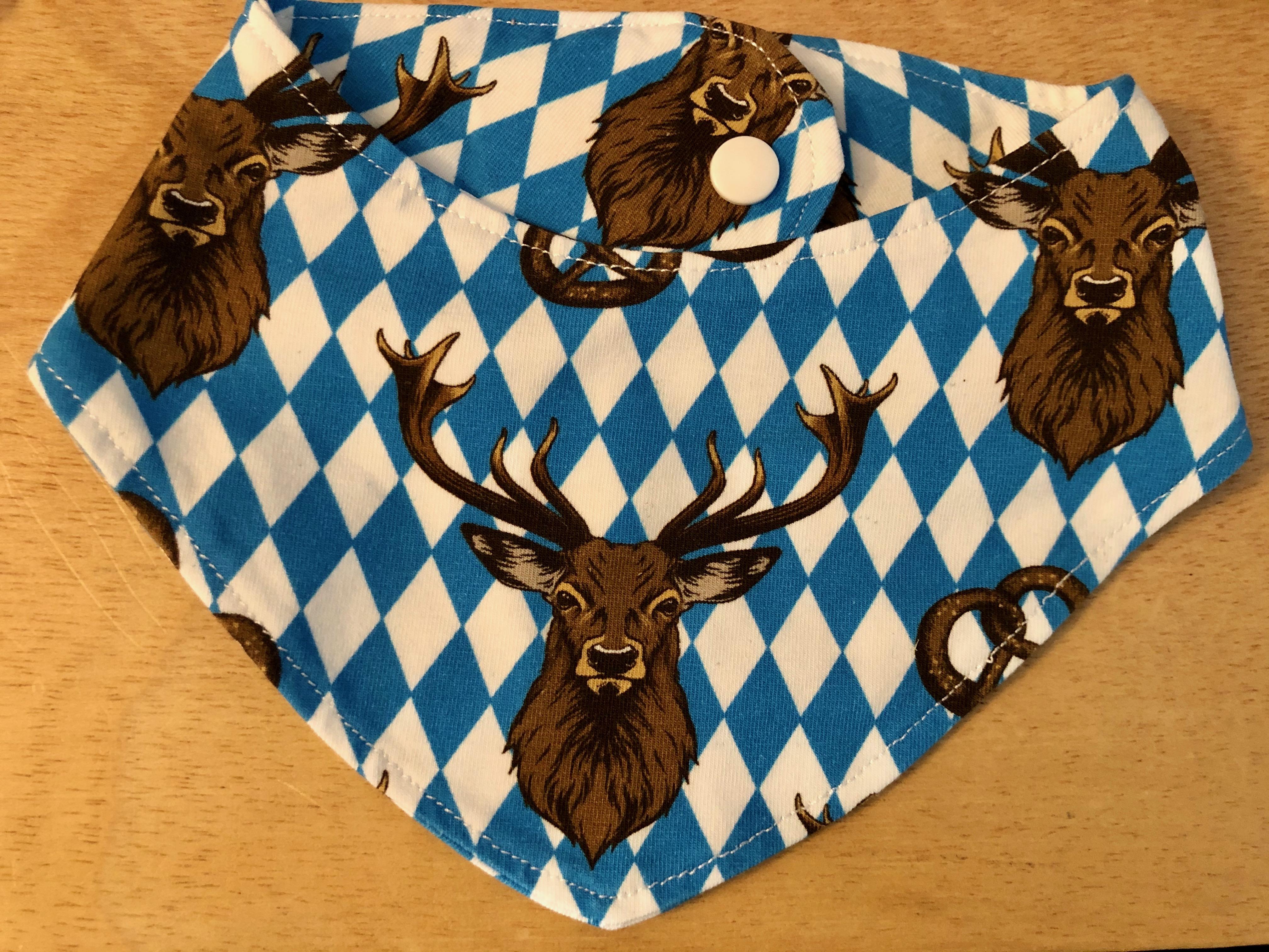 Trachten Dreieckstuch Handmade Hirsch