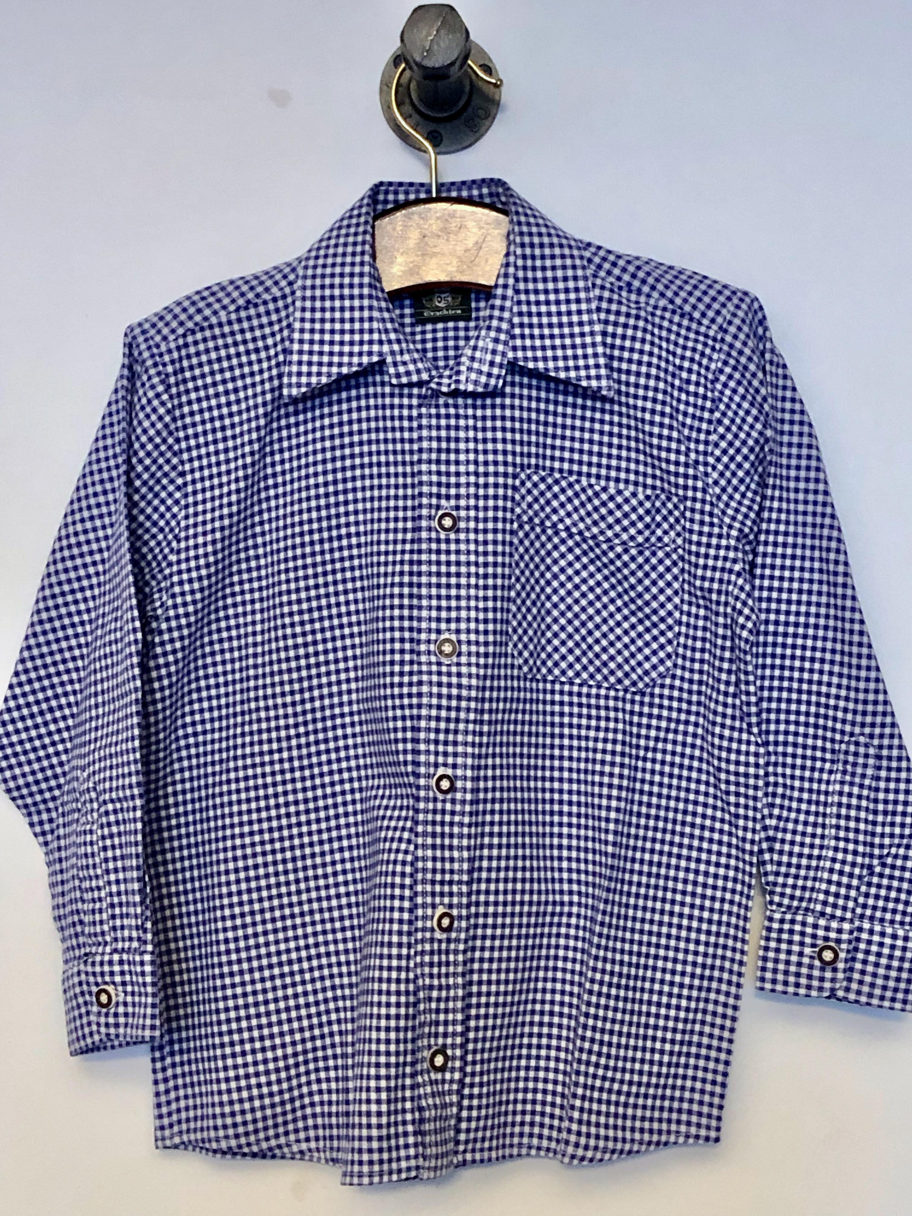 Gr. 122-128 OS Trachten Trachtenhemd (ok)