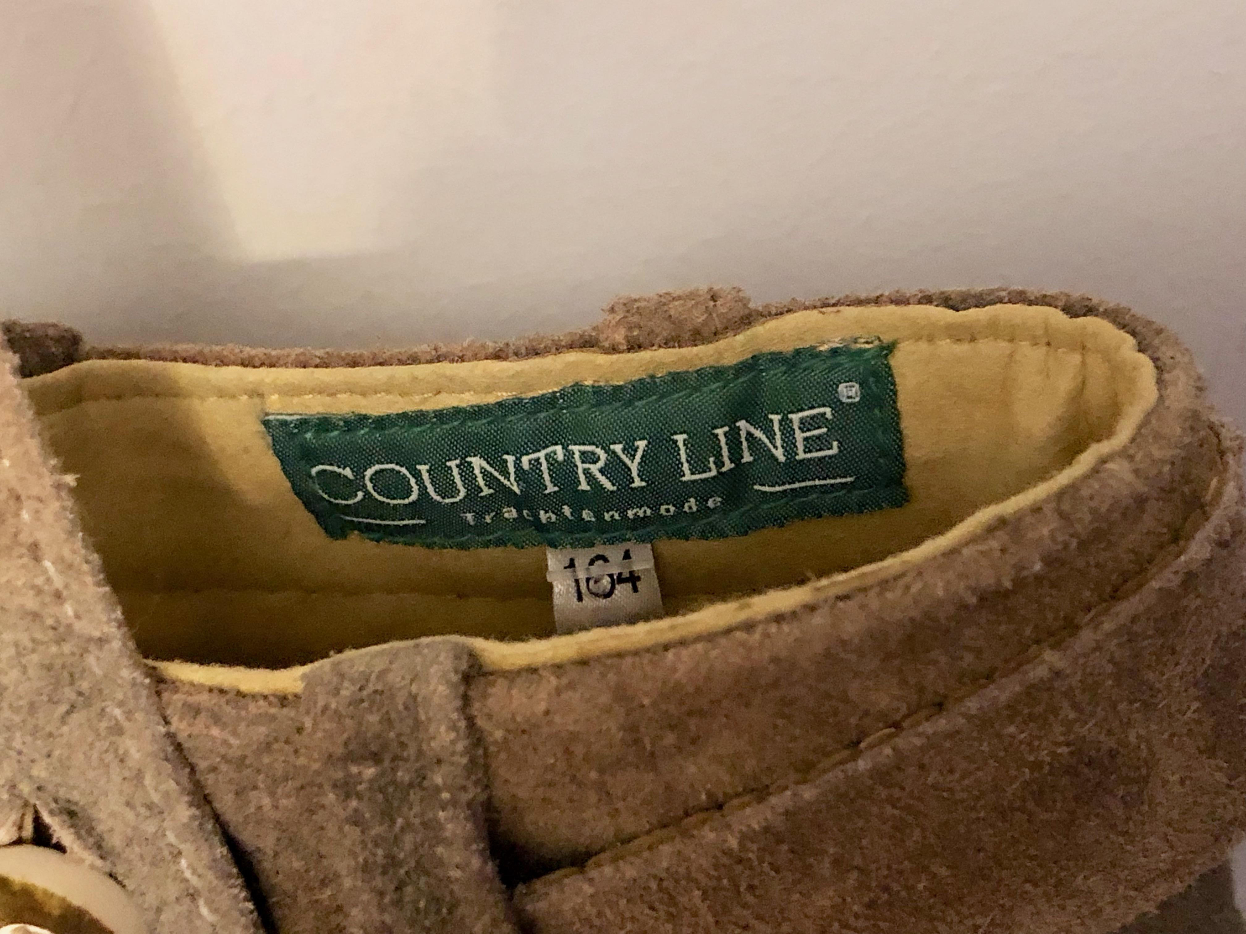 Gr. 164 Country Line Lederhose *Neu*