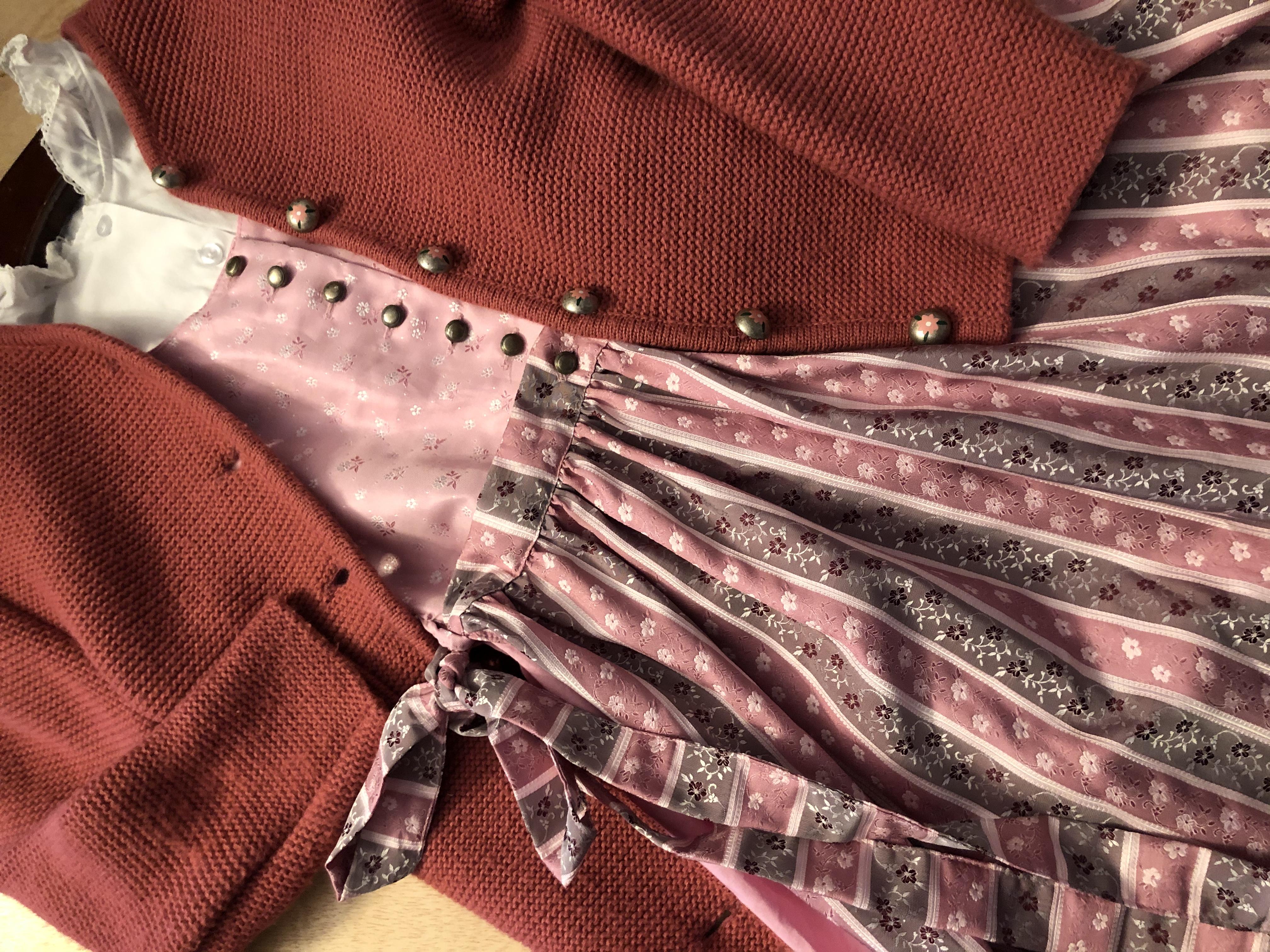 Gr. 146 Distler Dirndl mit Bluse