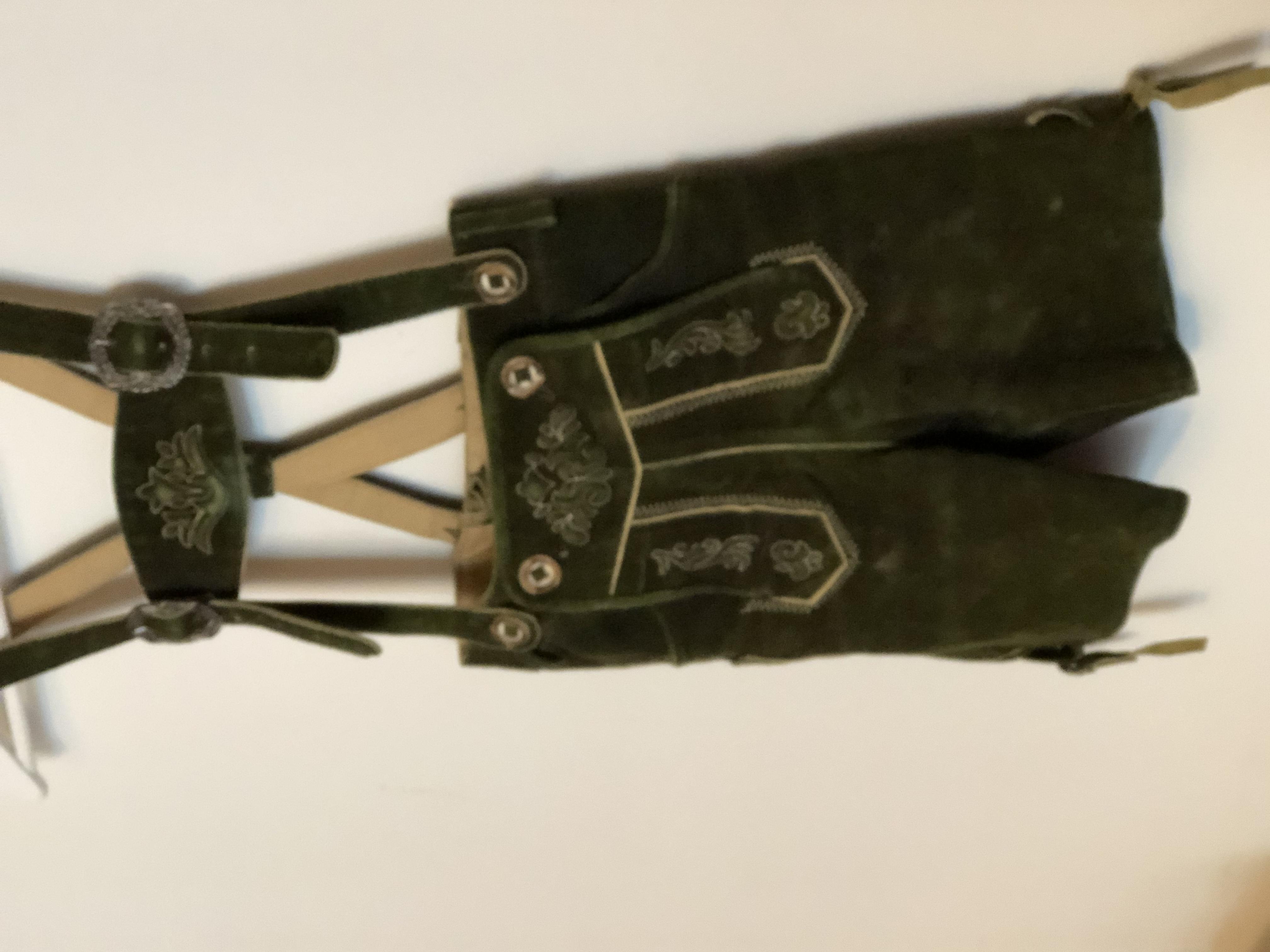 Gr. 110/116 Trachten Set Lederhose