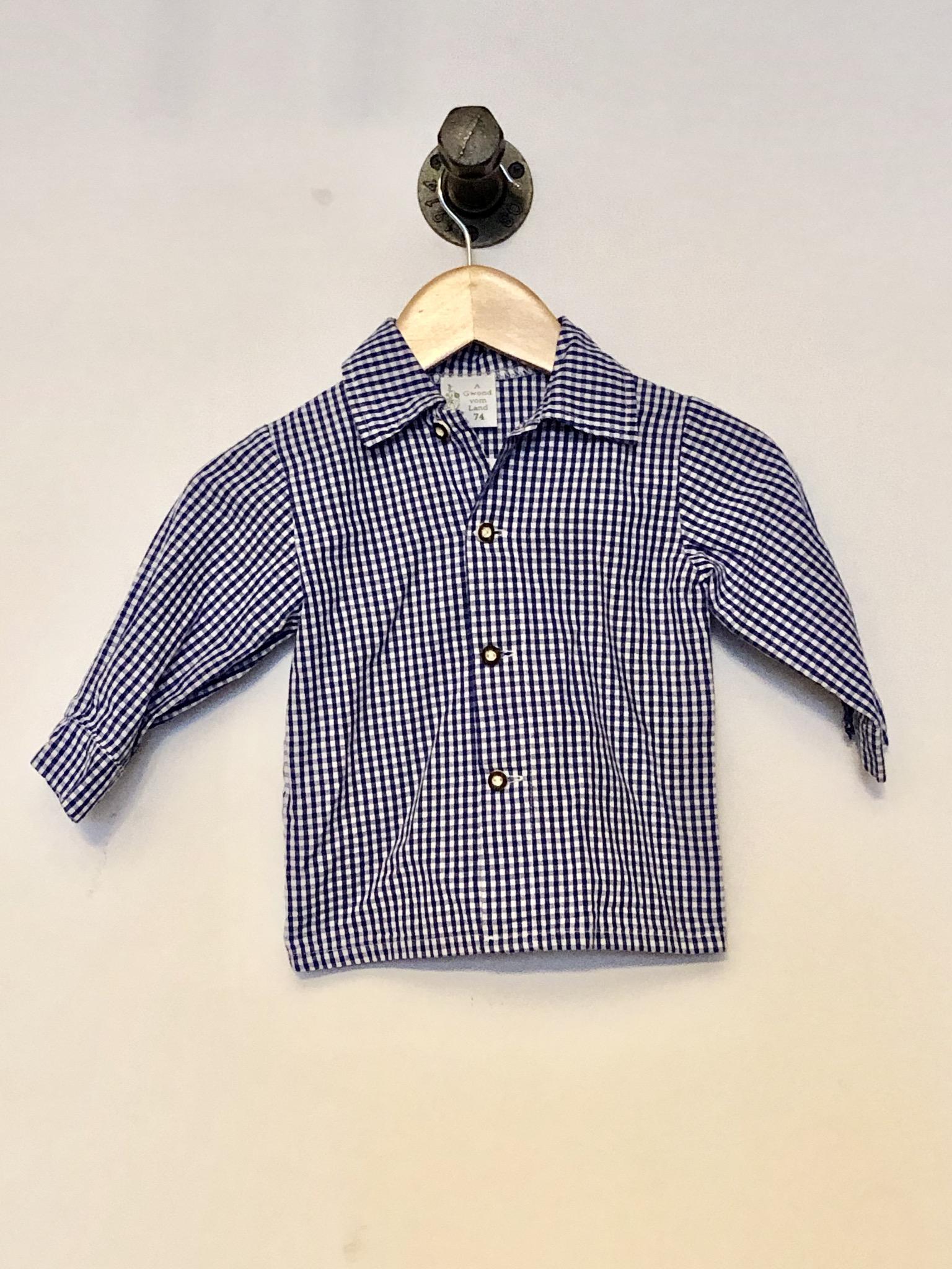 Gr. 74 Trachtenhemd