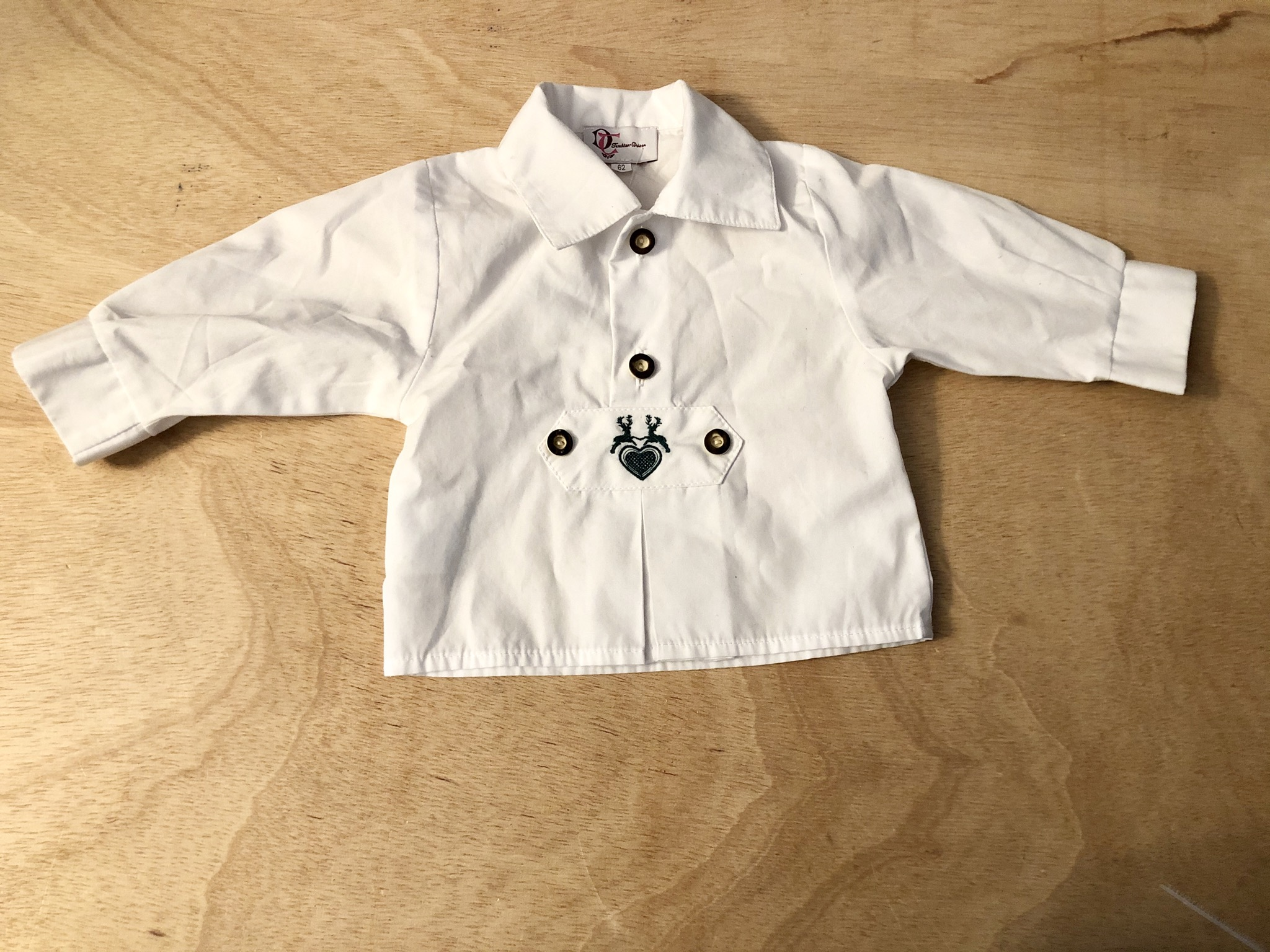 Gr. 62 Trachtenhemd Trachten Deiser