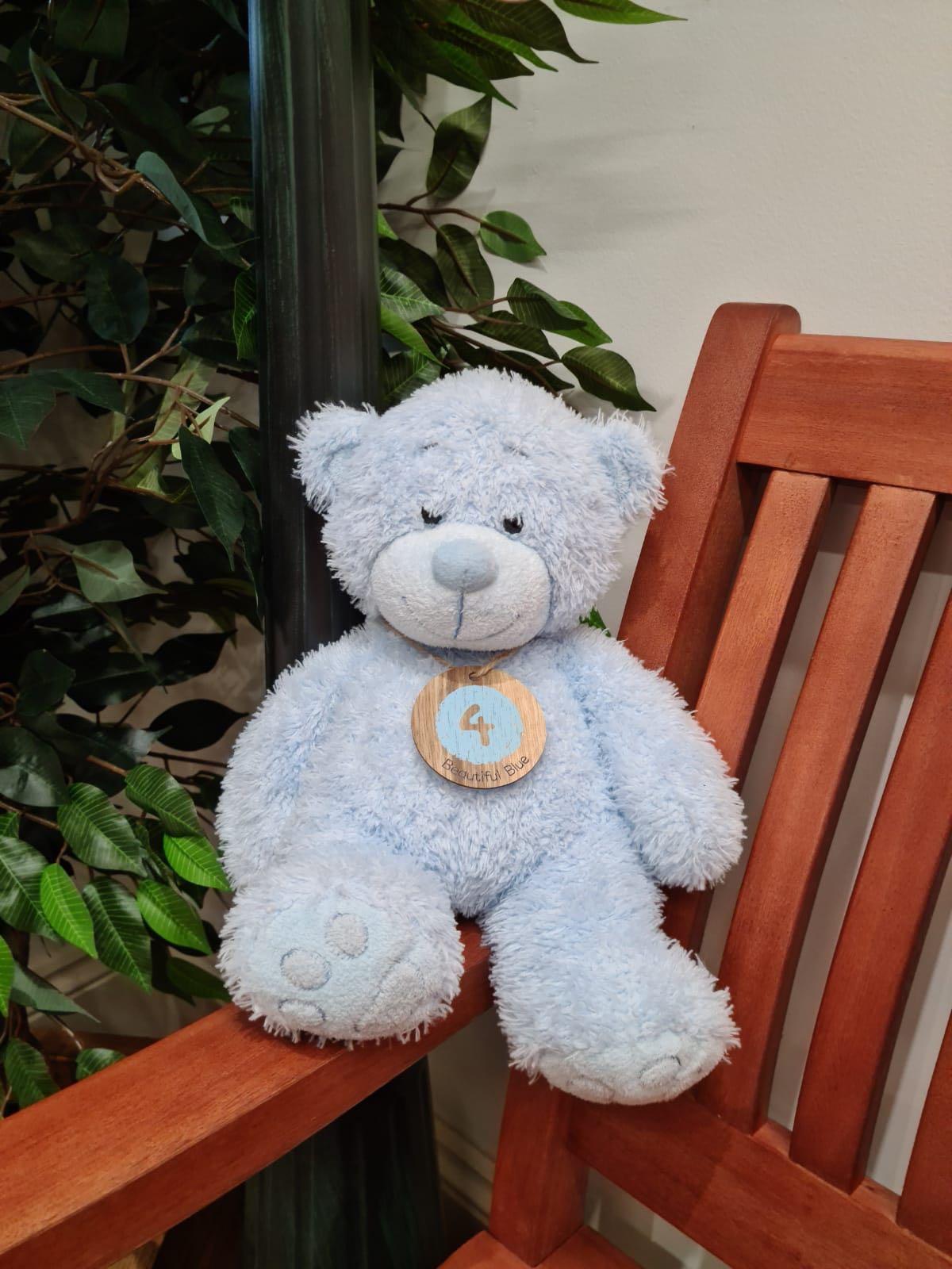 TEDDY BEAUTIFUL BLUE