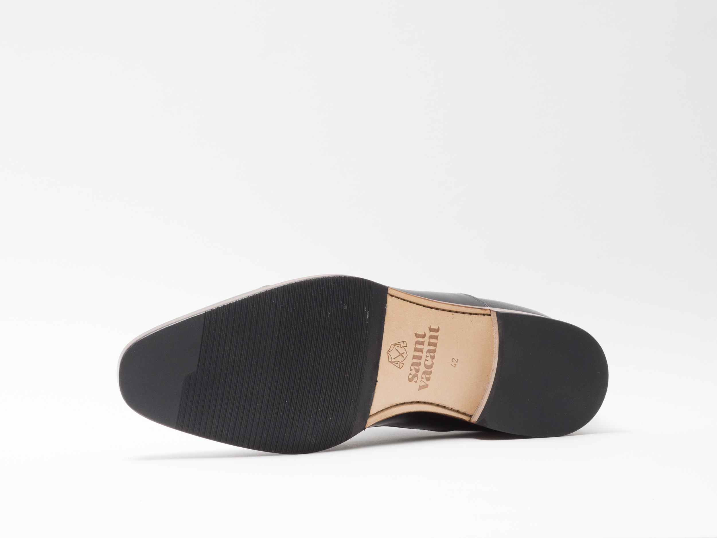 DRESS SHOE BLACK (Tan welt)