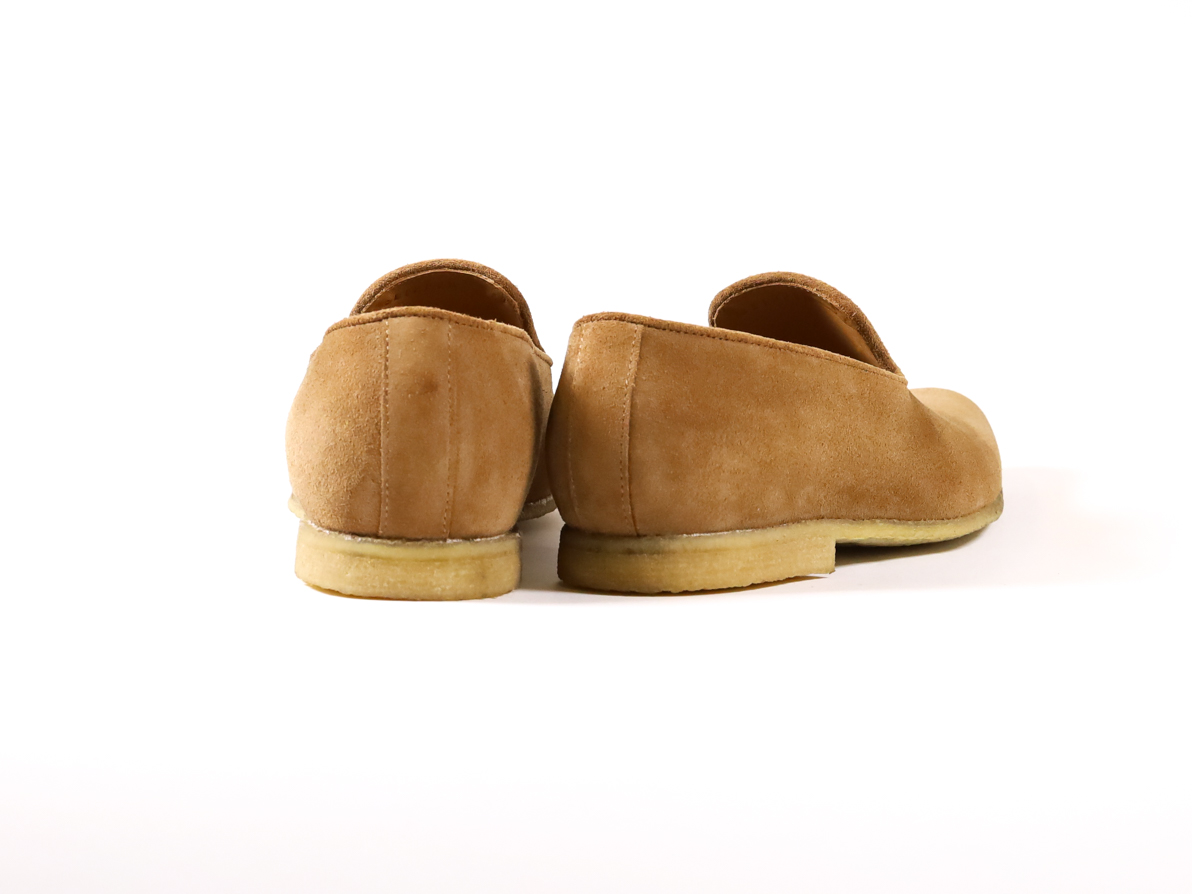 SLIPPER SAND SUEDE