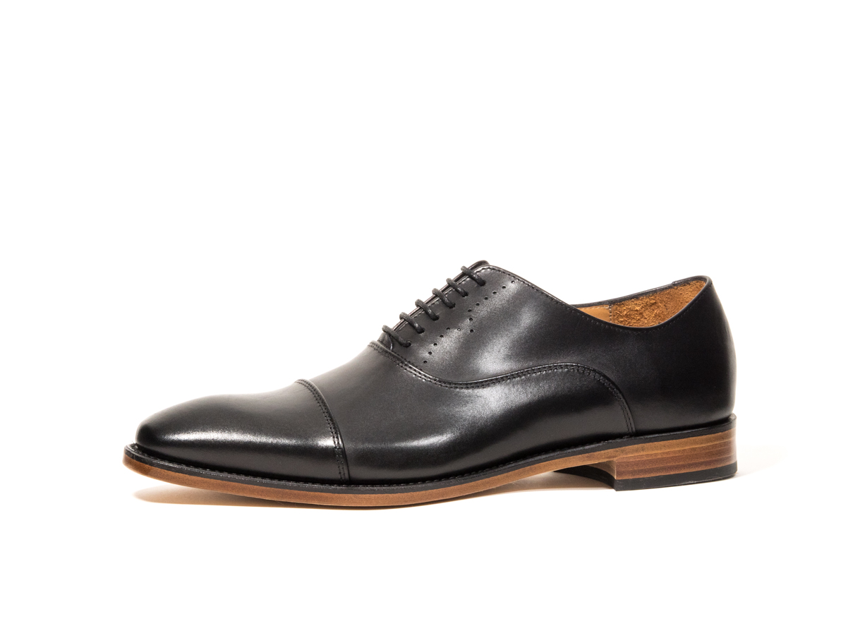 DRESS SHOE BLACK CALF