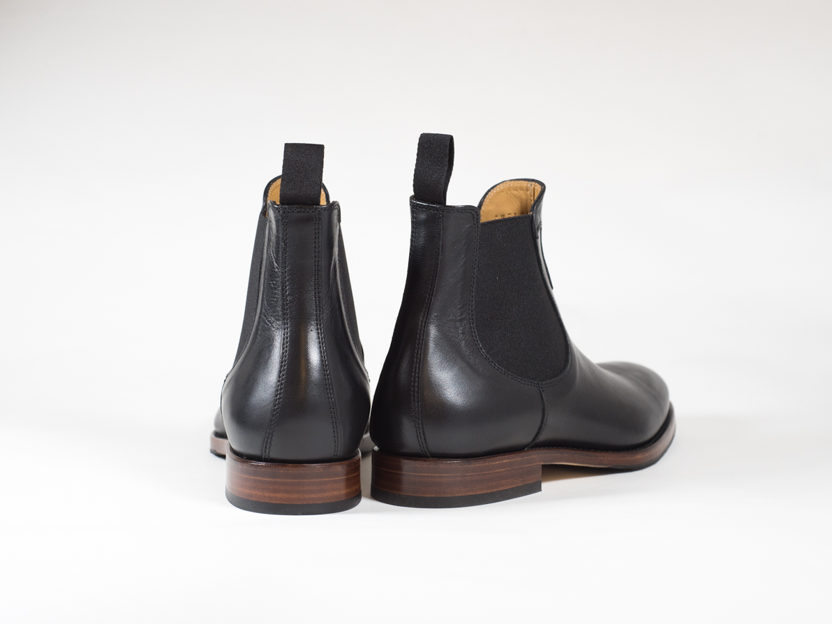 CHELSEA BOOT BLACK VEGETAL