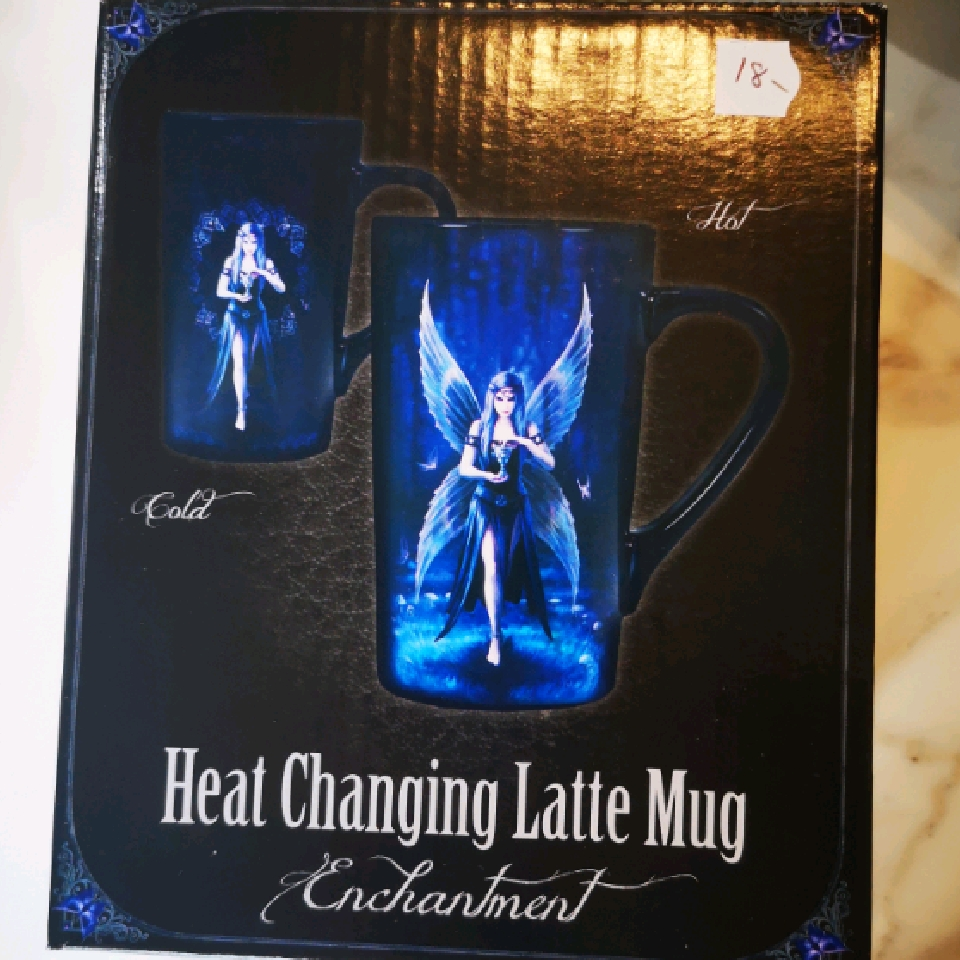 Anne Stokes Heat Changing Latte Mug