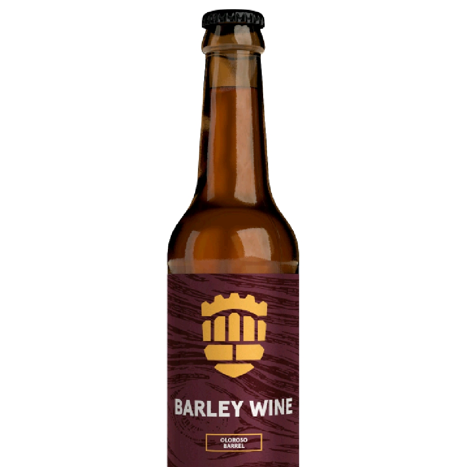 Barley Wine Oloroso Barrel  11 % 0,33 l