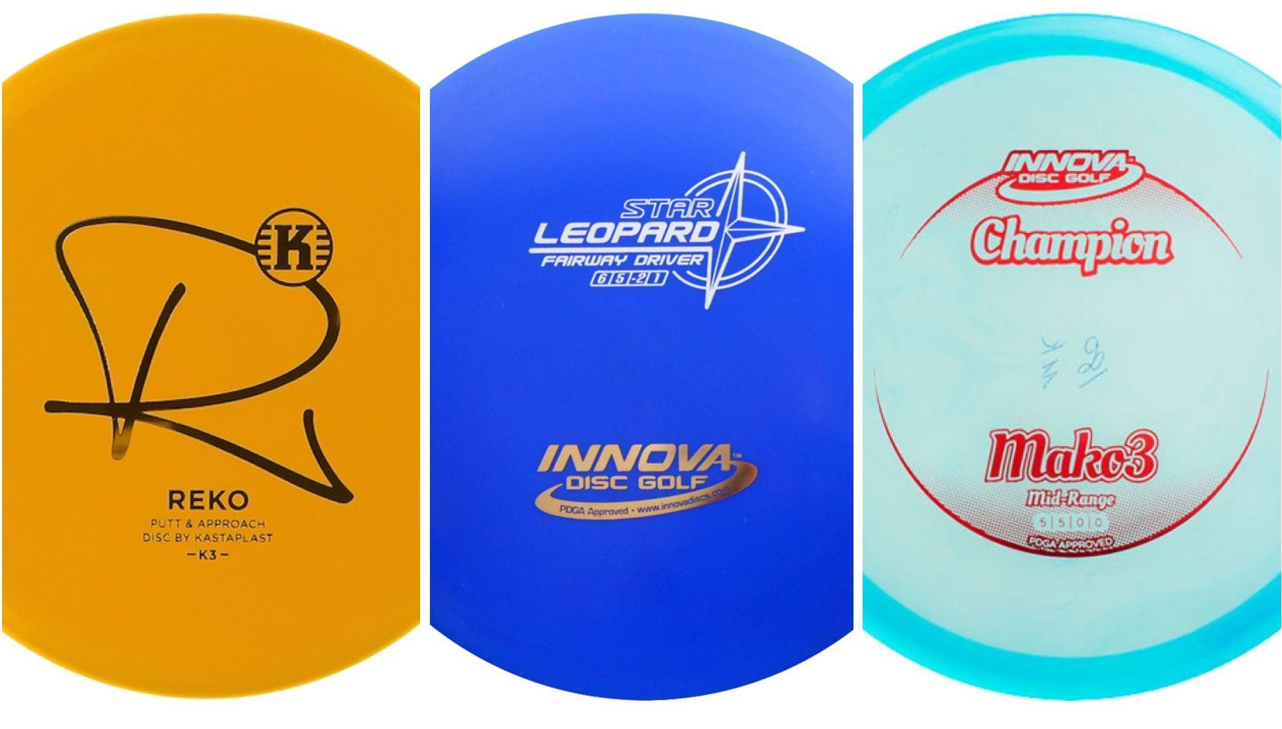 Frisbeegolf Startpakke