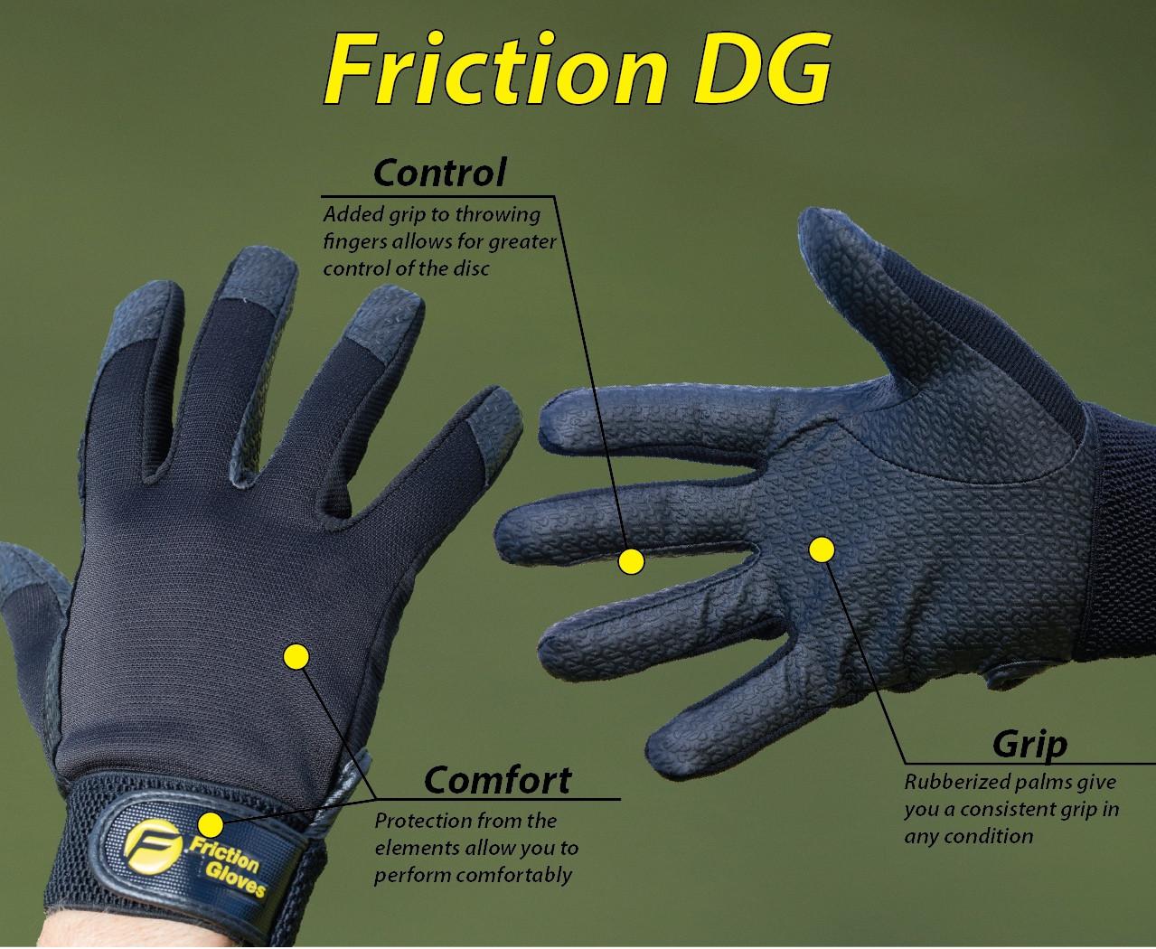 Friction gloves, dame