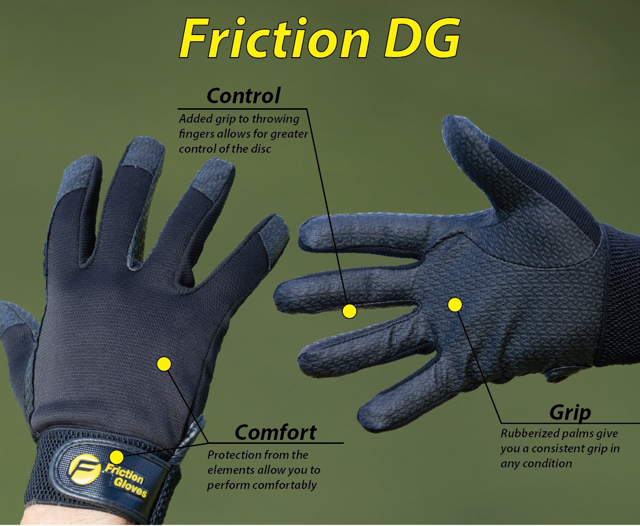 Friction gloves, Herre