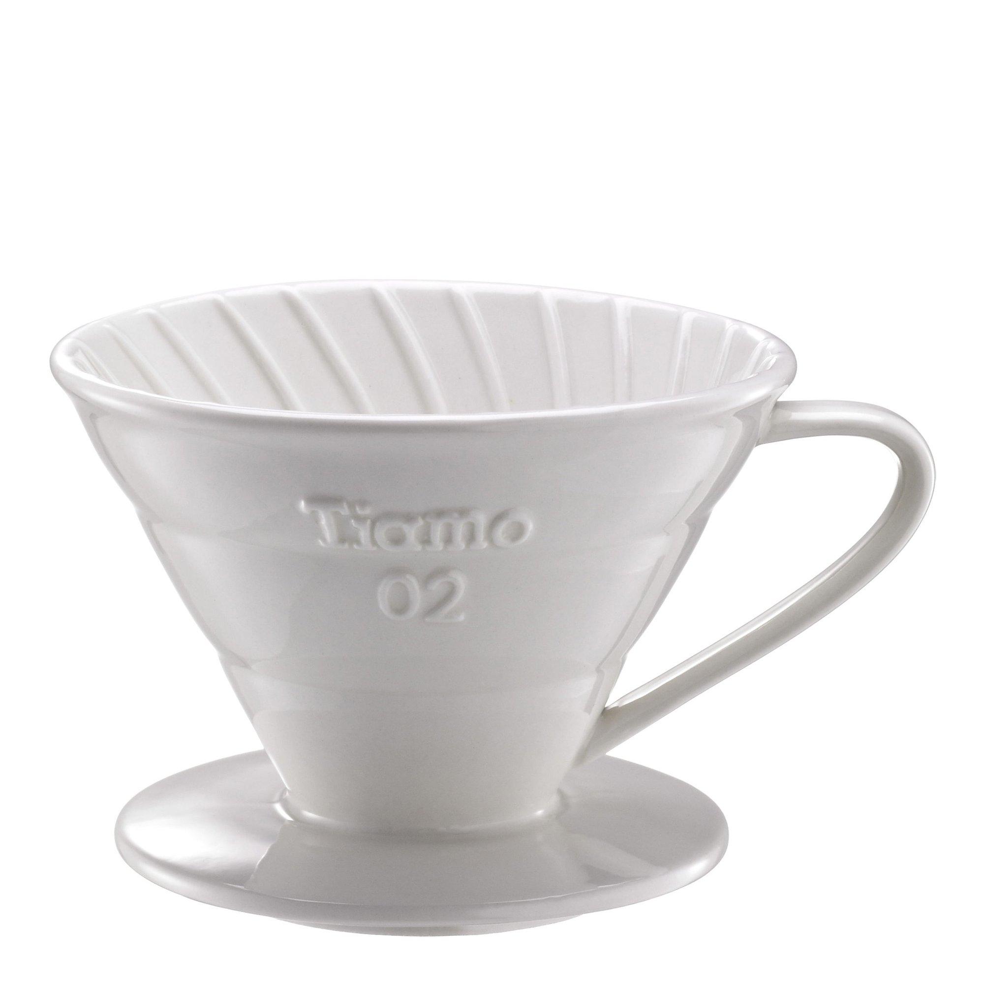 Tiamo V02 Keramisk Filterhållare Vitf