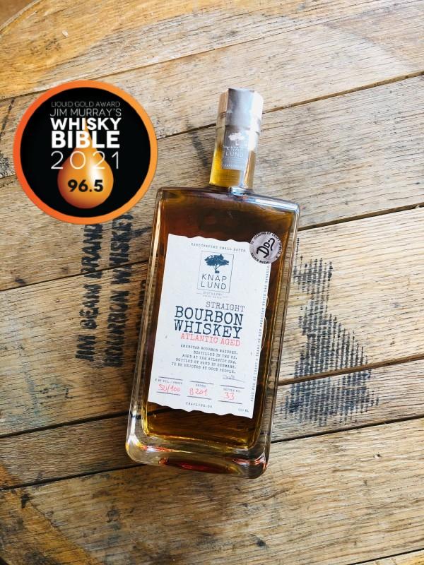 Atlantic Aged | Straight Bourbon Whiskey 50% - batch B201