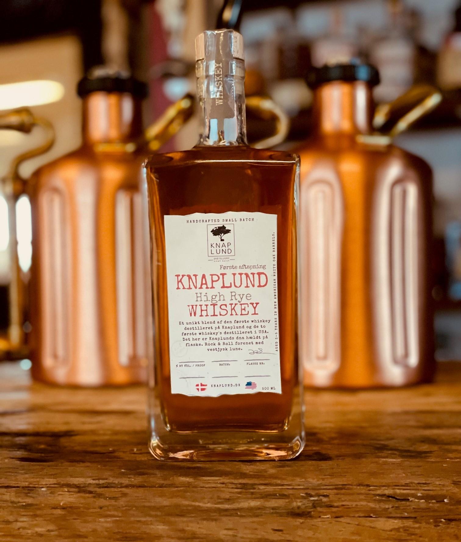 Knaplund High Rye Whiskey | Batch KHR 01 50%
