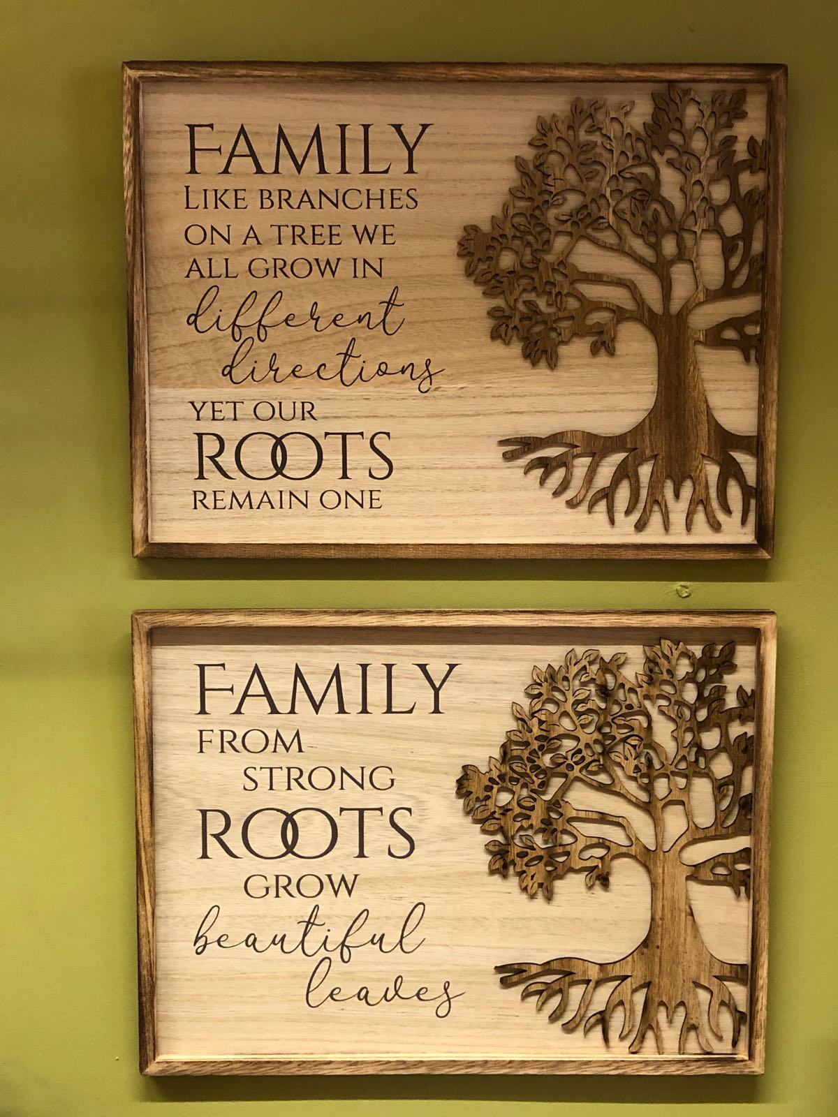 Tree of life large wall plaques