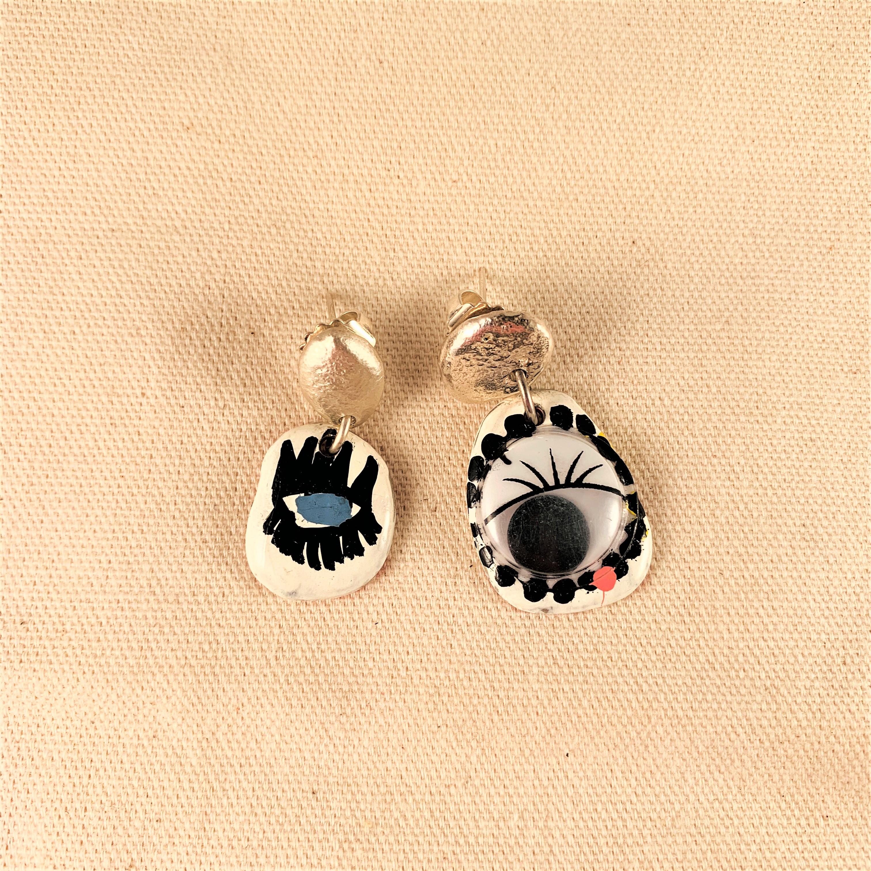 Anna Watson - Puppet Eye Earrings