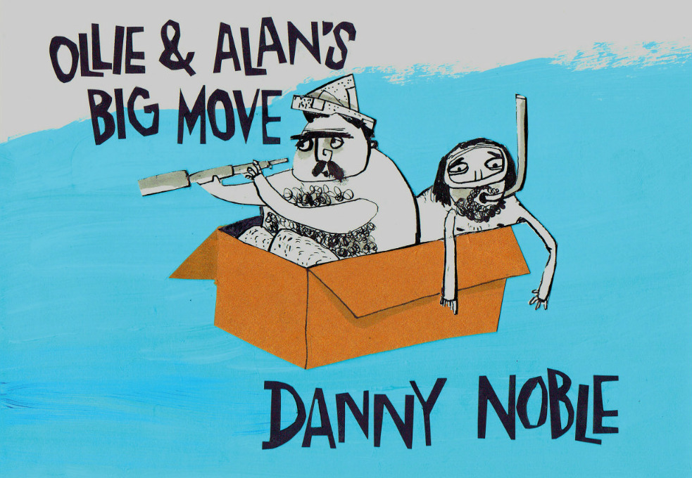 "Danny Noble - Comic Book ""Ollie & Alan"""