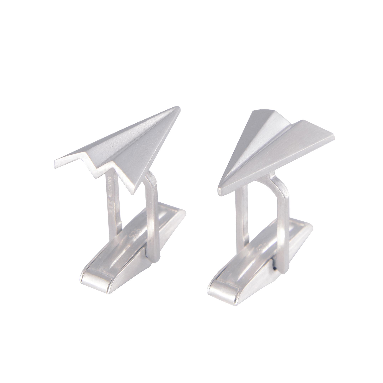 Alice Barnes Jewellery - Paper Plane Cufflinks