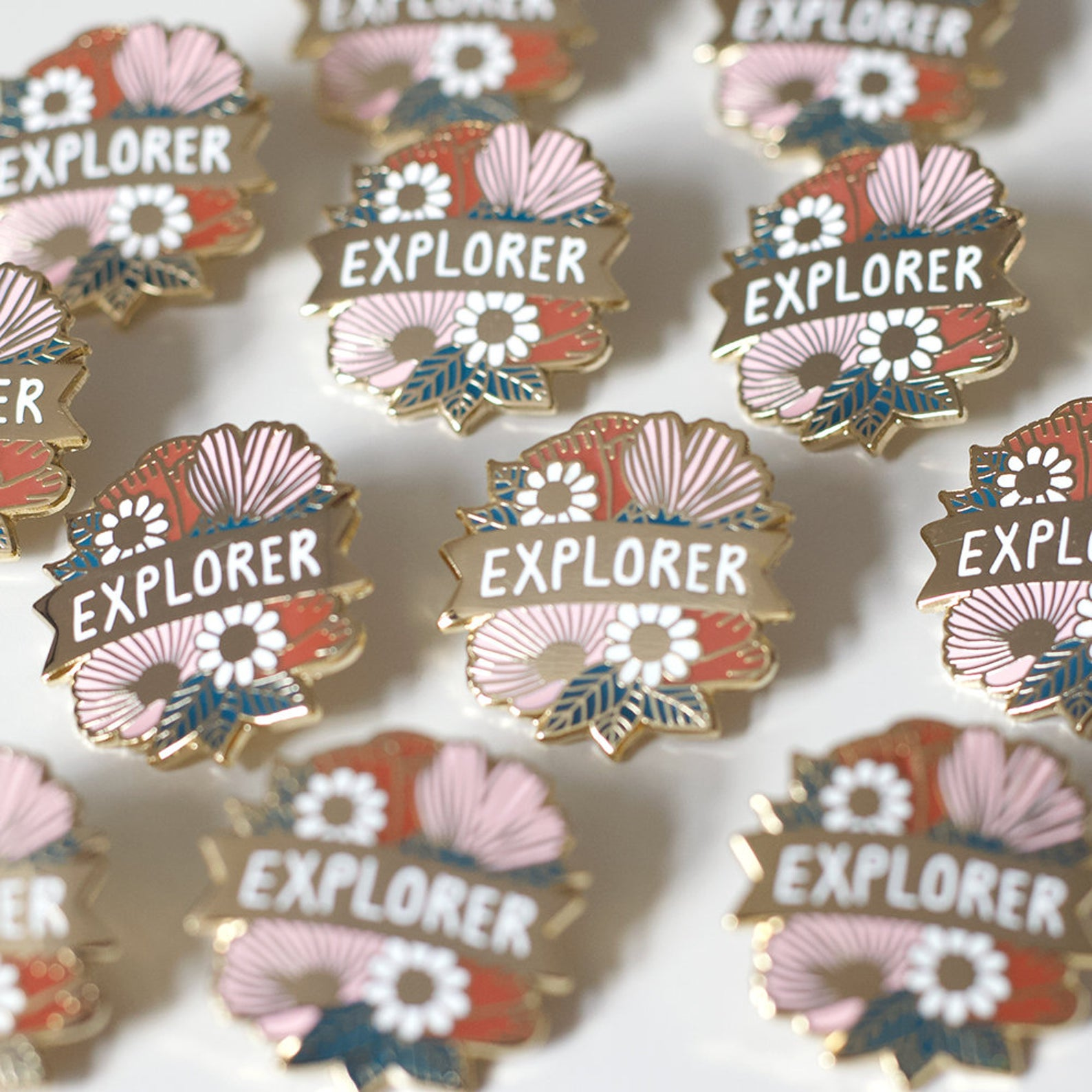Jess Hinsley - Explorer Pin