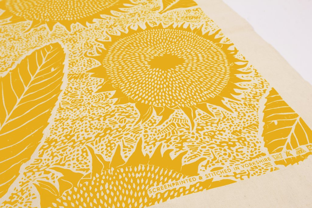 Wald - Screen Printed Tea Towel